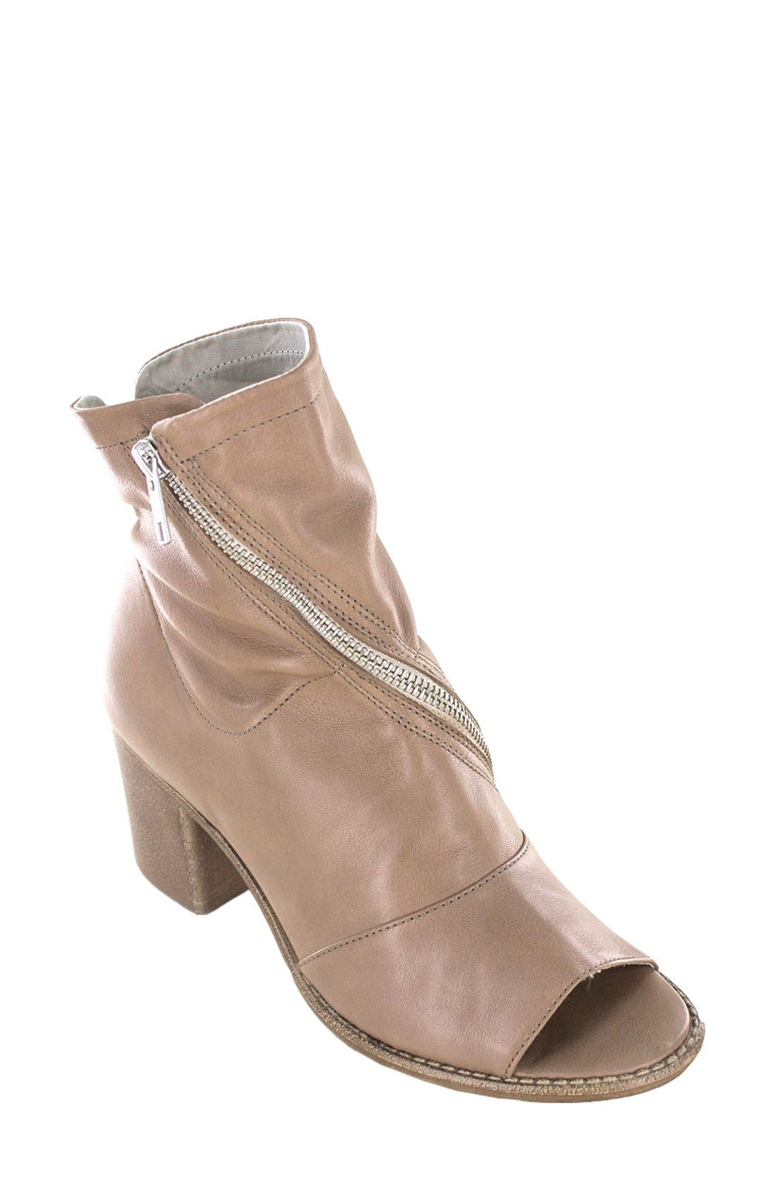 'Fantasia' Open Toe Bootie,                             Main thumbnail 1, color,                             252