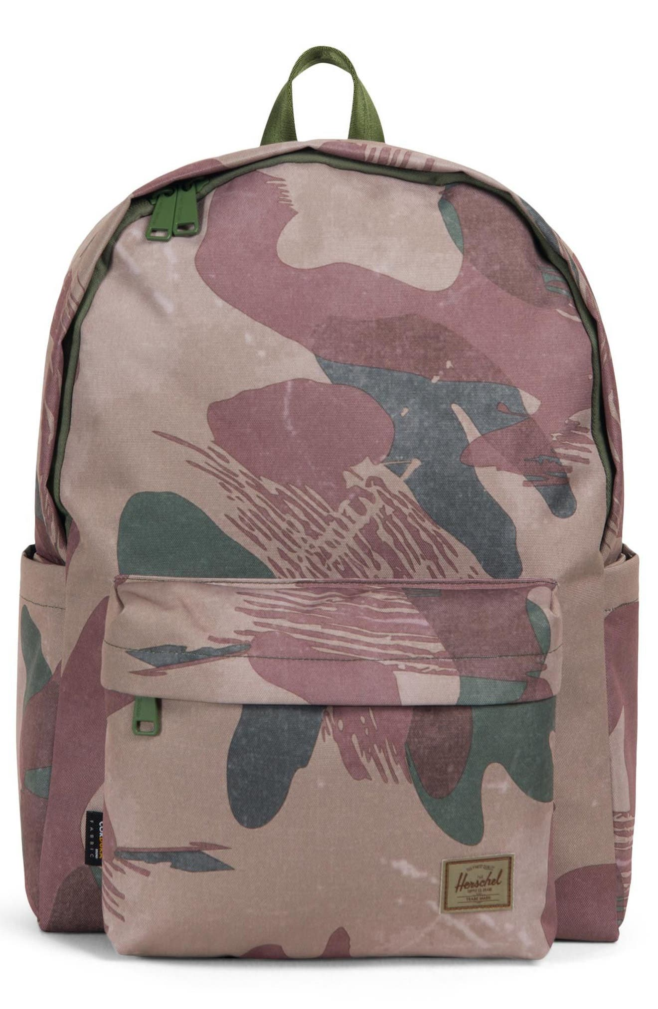 Berg Backpack,                         Main,                         color, BRUSHSTROKE CAMO