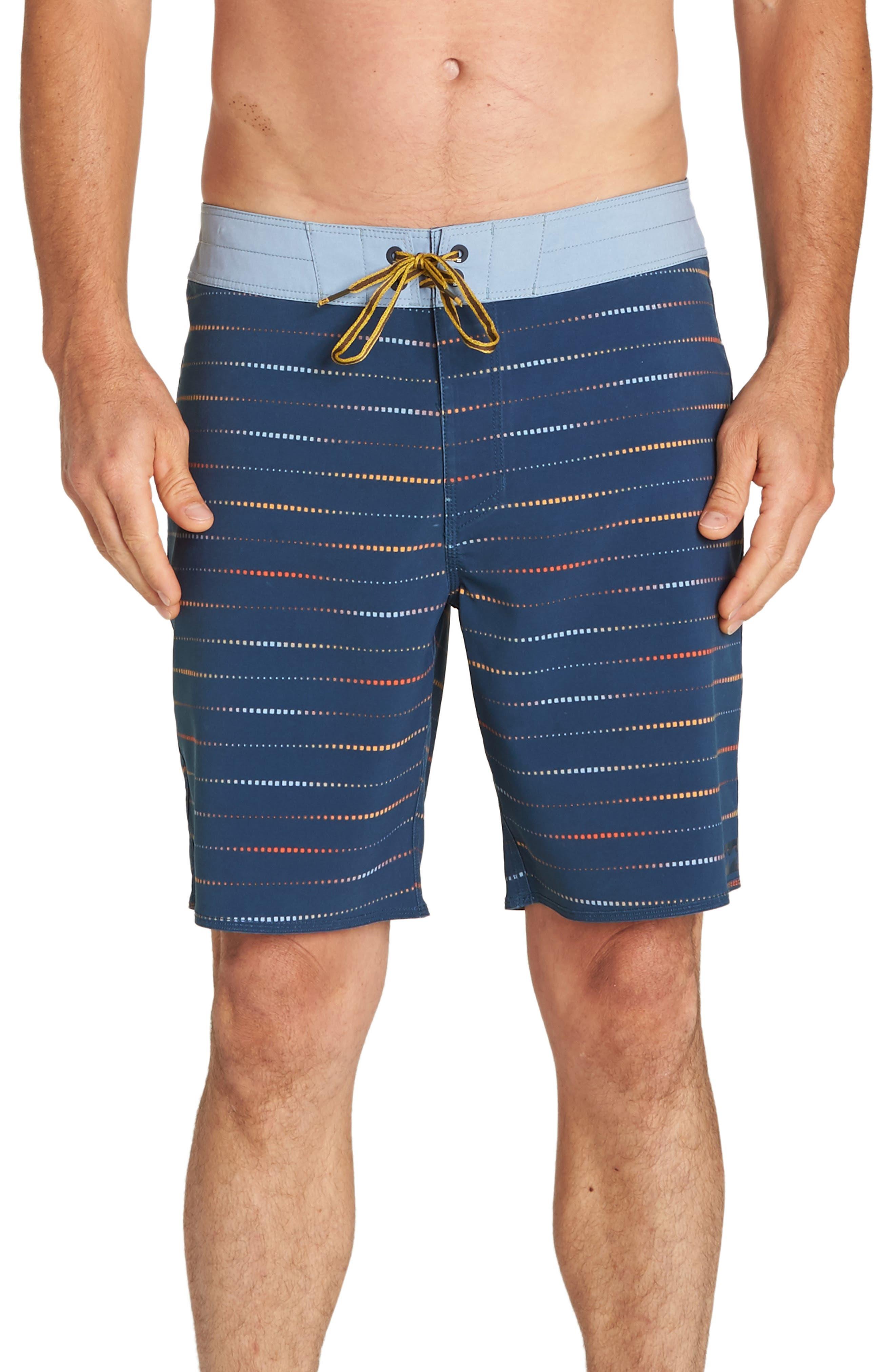 Sundays x Mark Board Shorts,                         Main,                         color, INDIGO