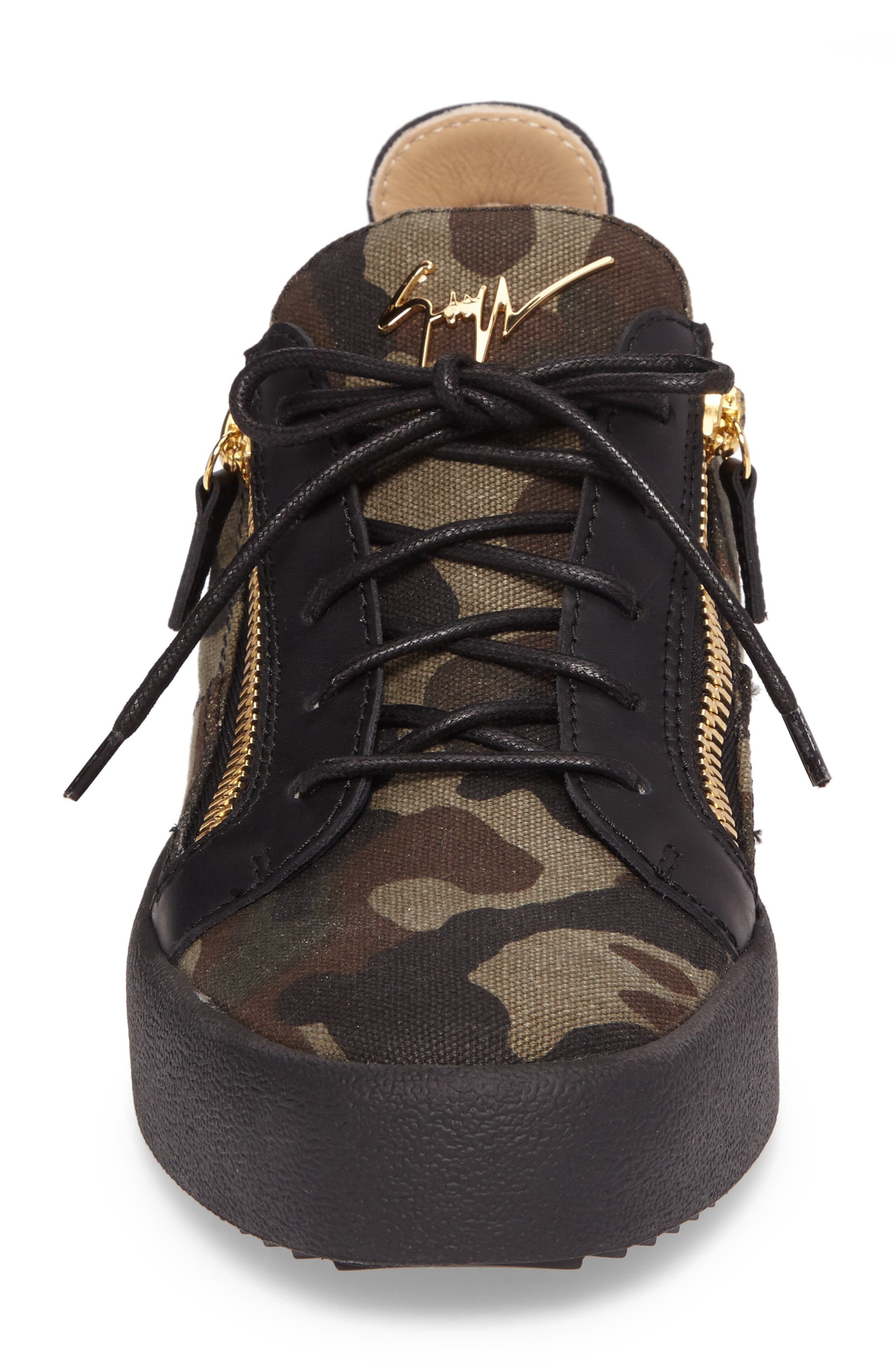 Camo Sneaker,                             Alternate thumbnail 4, color,                             001