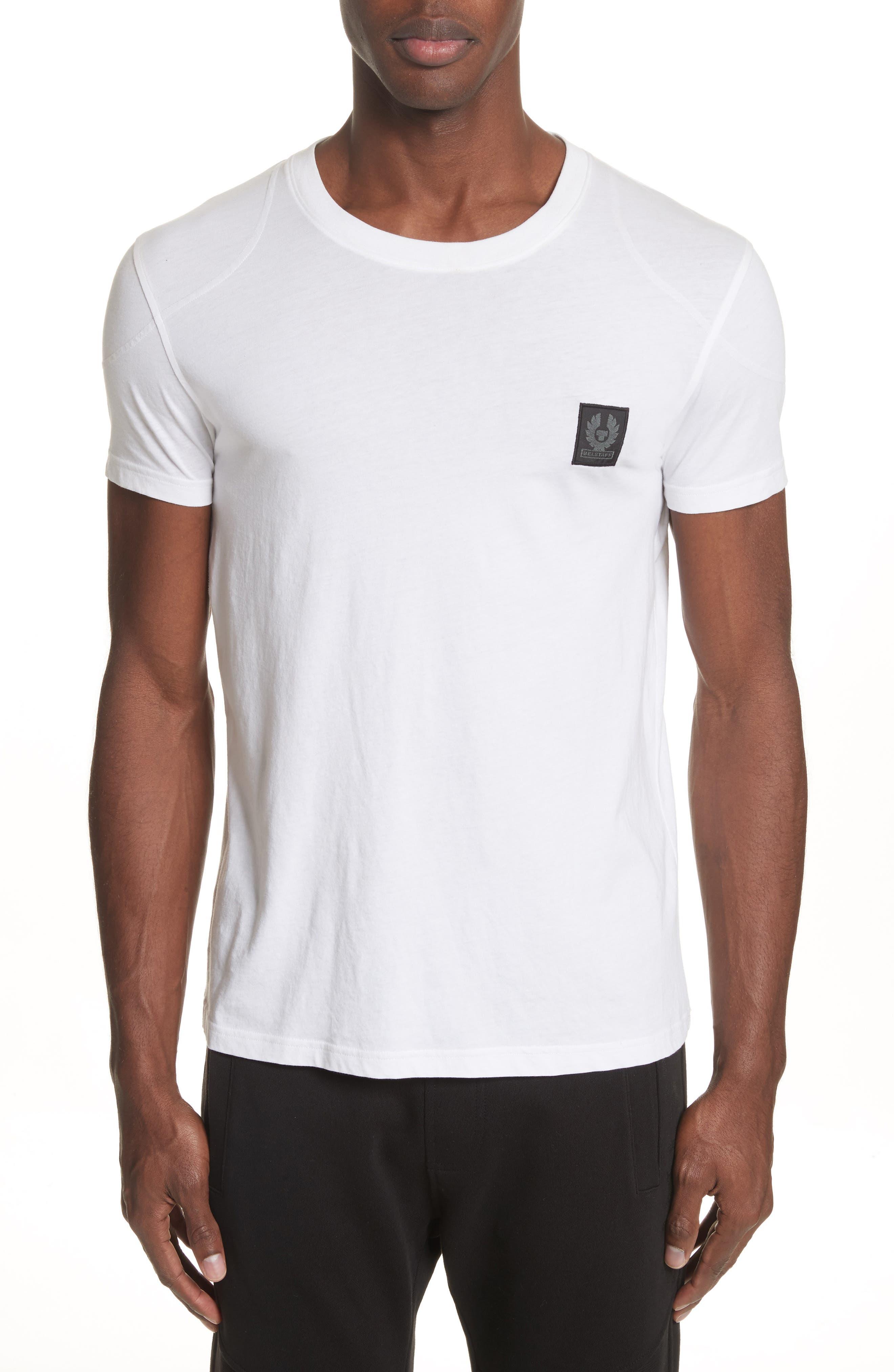 Throwley Logo T-Shirt,                         Main,                         color, WHITE