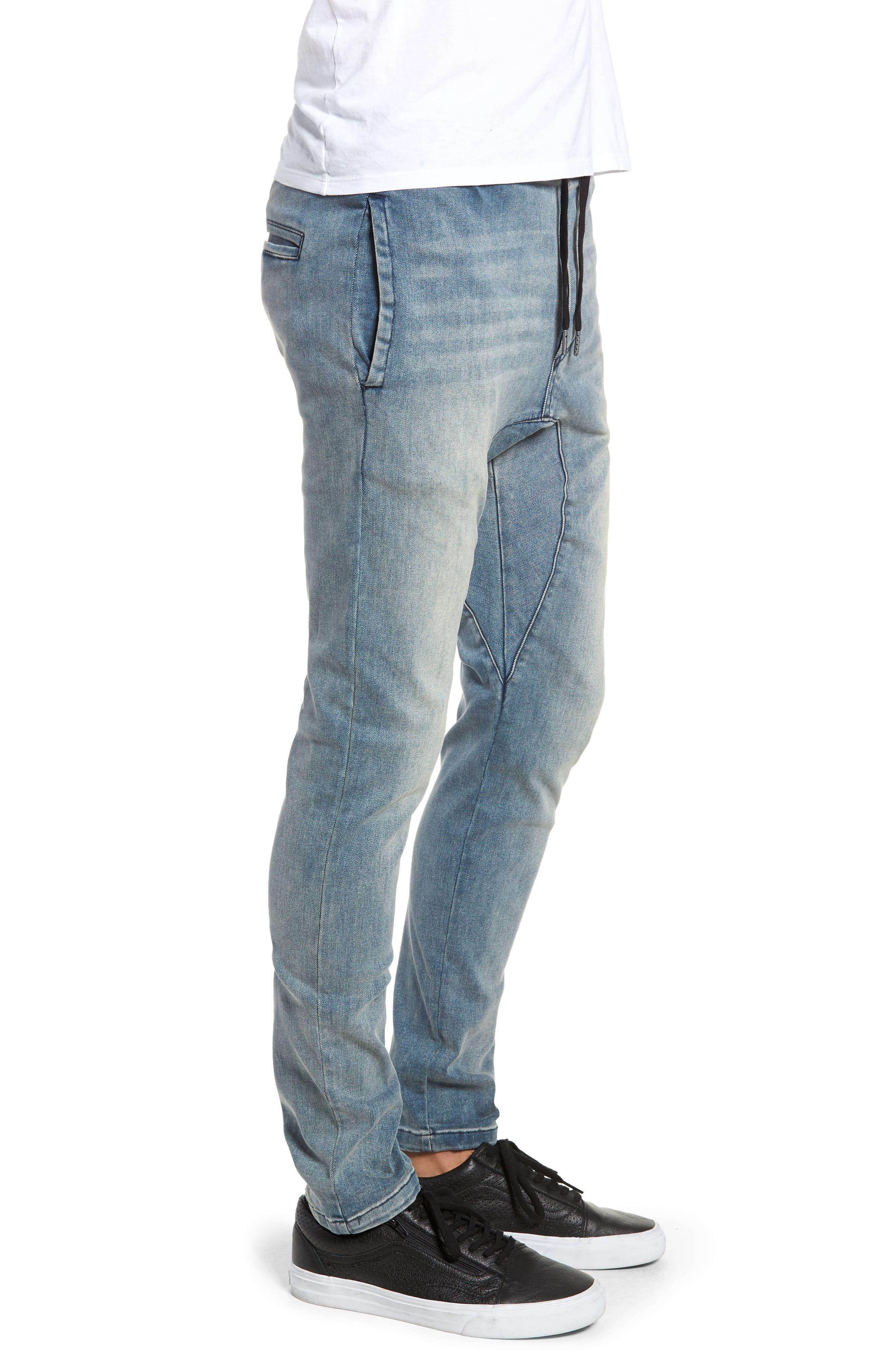 Salerno Flex Jeans,                             Alternate thumbnail 3, color,                             ABANDONED BLUE