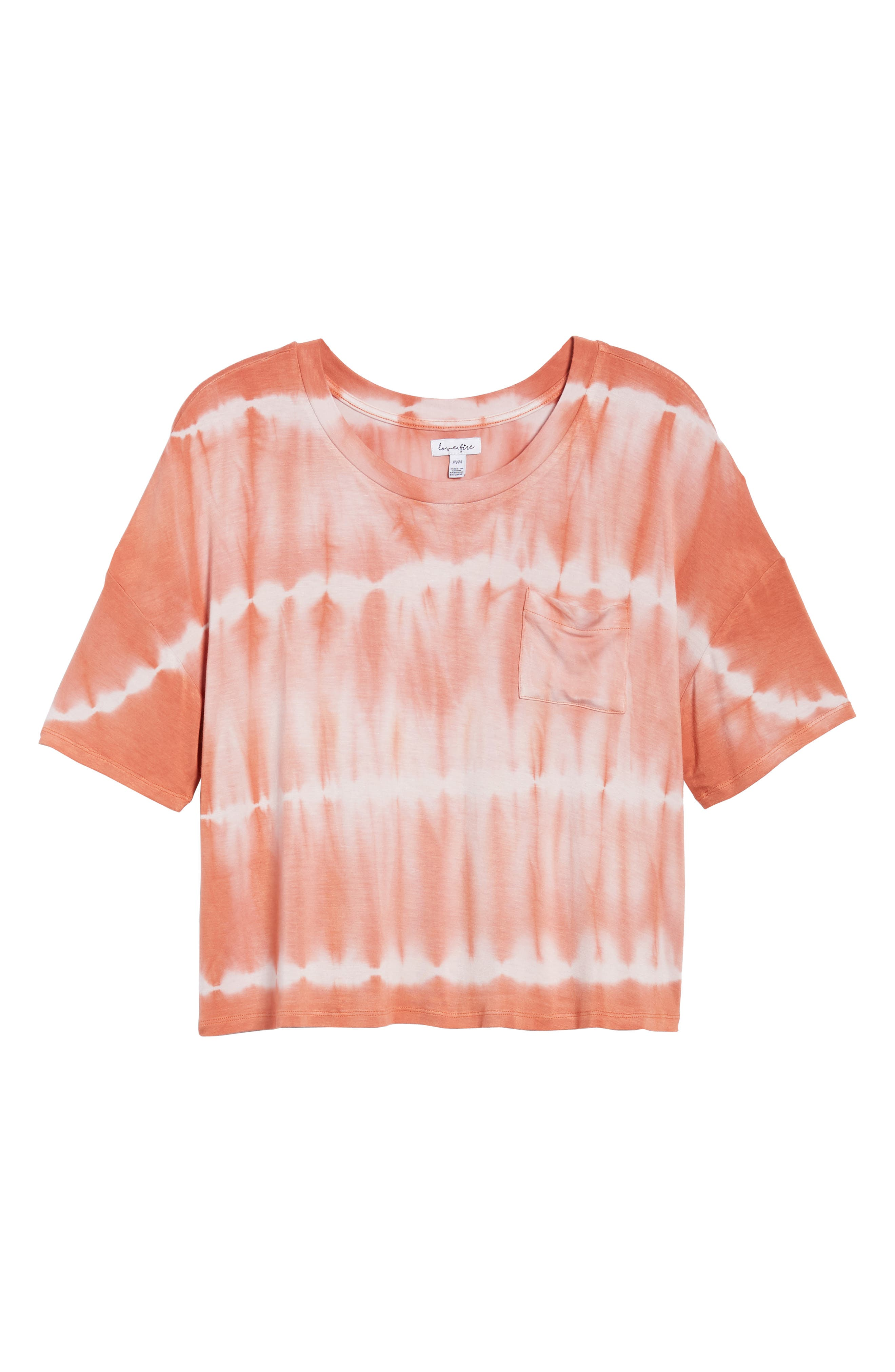 Tie Dye Tee,                             Alternate thumbnail 13, color,