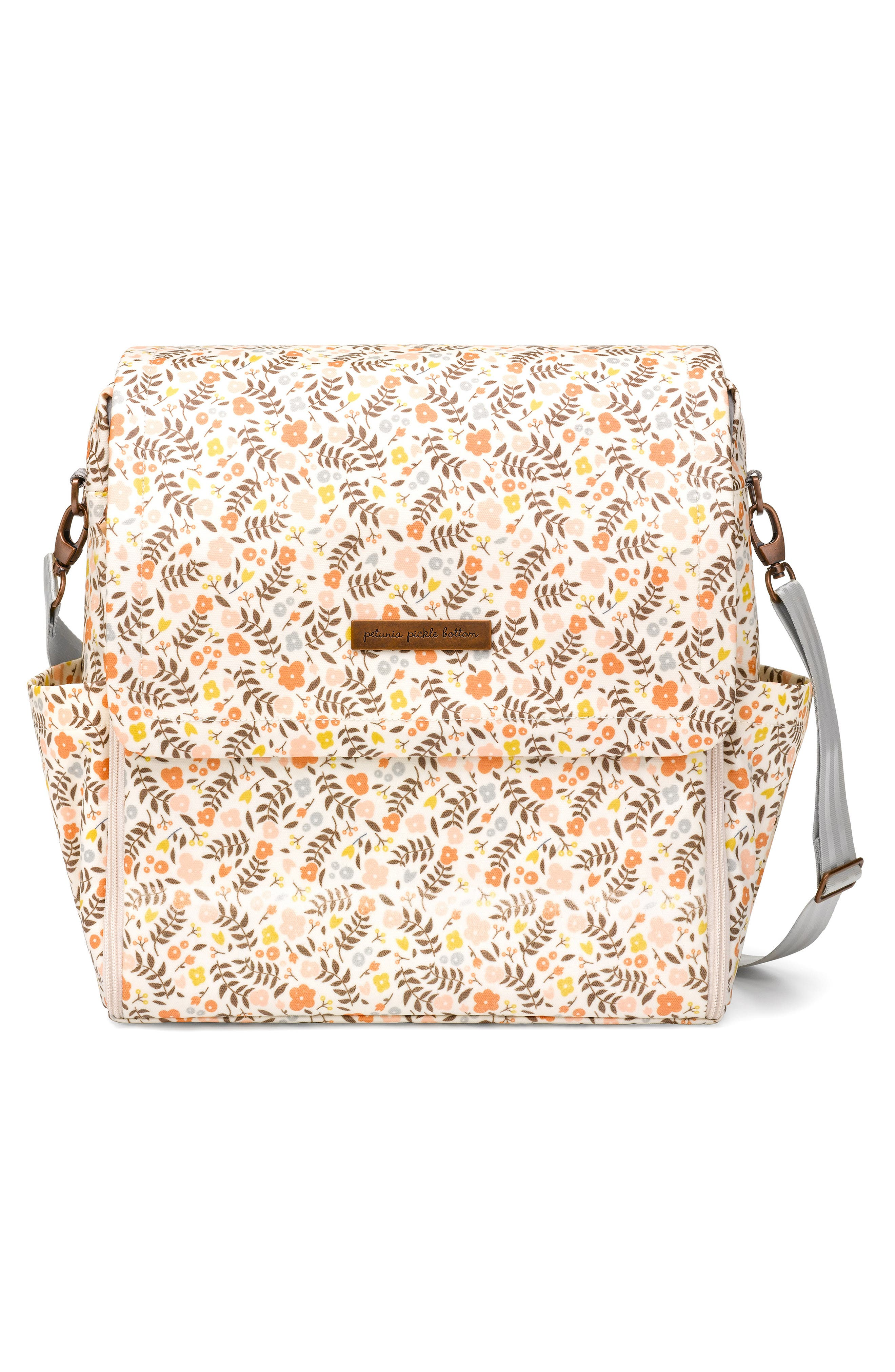 Infant Petunia Pickle Bottom Boxy Backpack Diaper Bag  Yellow