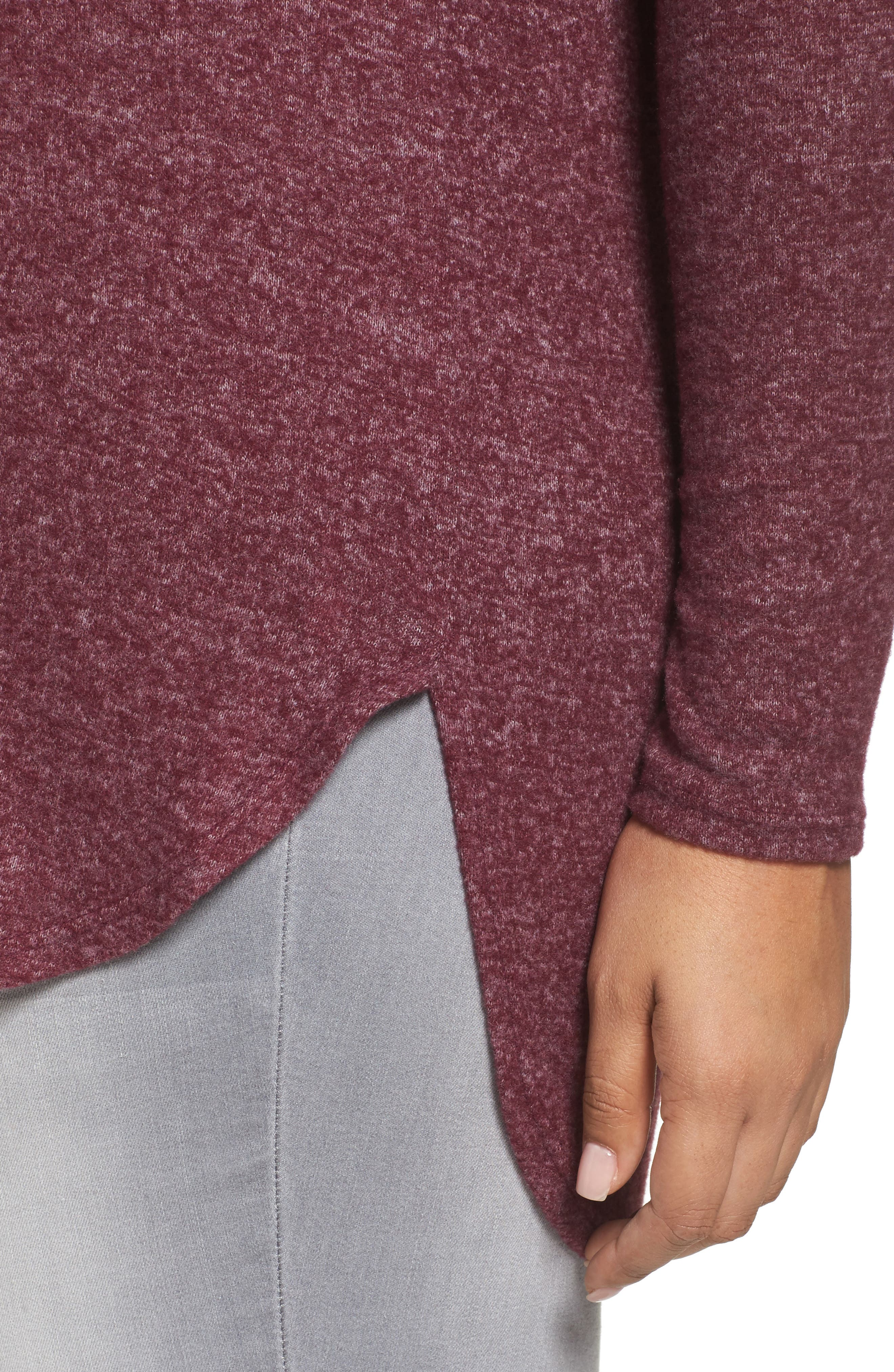 High/Low Knit Top,                             Alternate thumbnail 8, color,