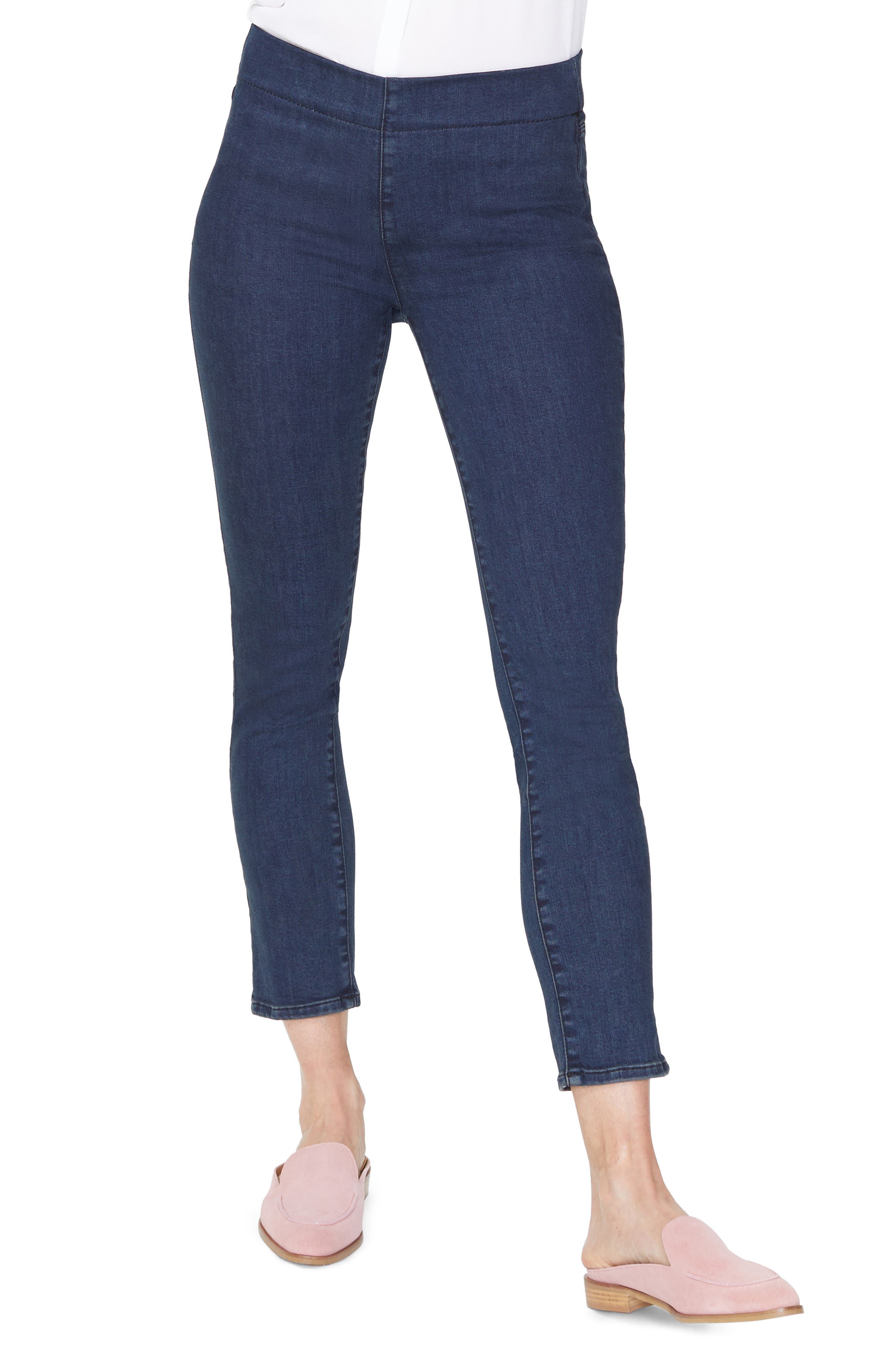 NYDJ Pull-On Skinny Ankle Jeans, Main, color, 405