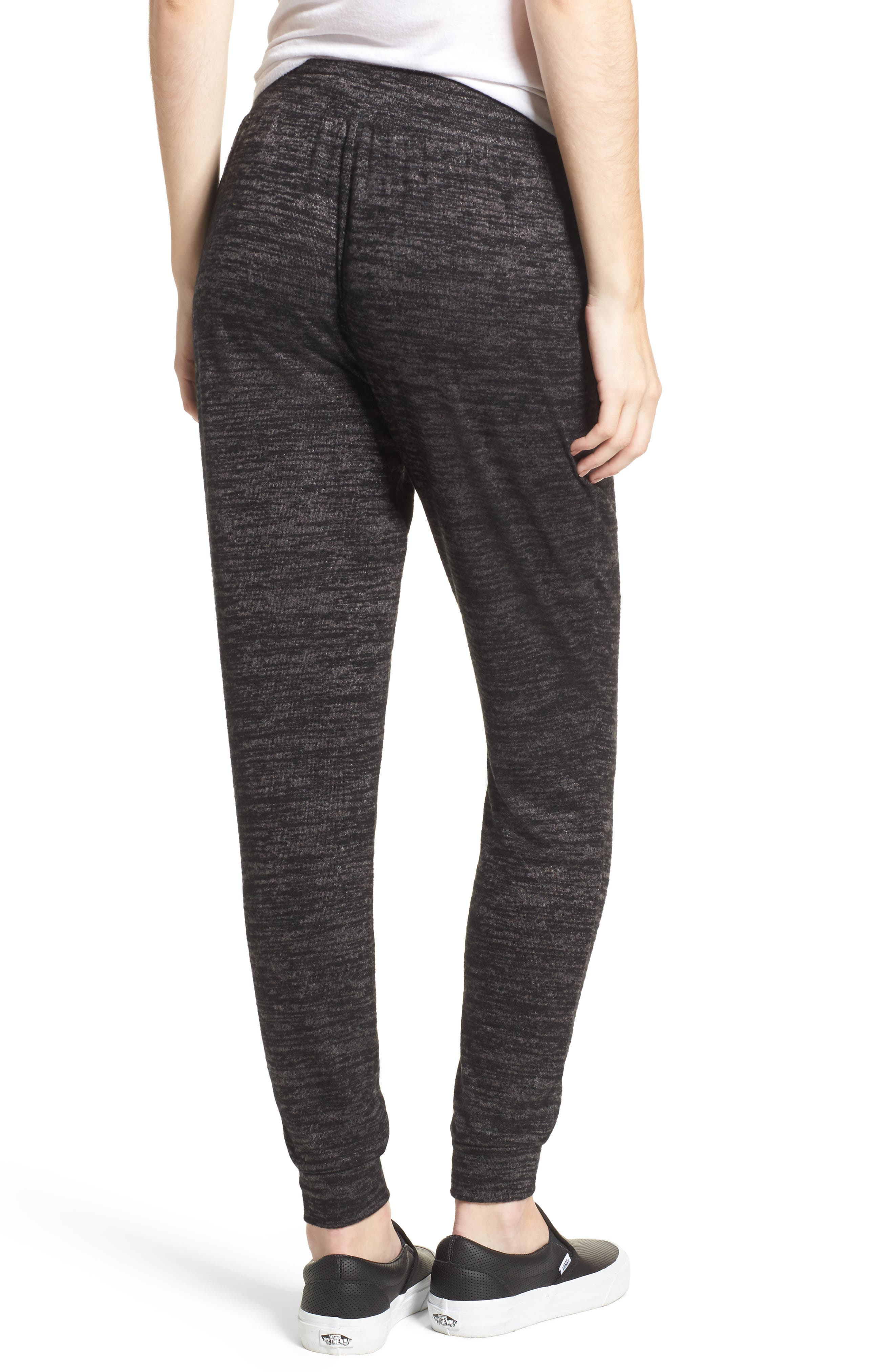 Stretch Knit Joggers,                             Alternate thumbnail 2, color,                             001
