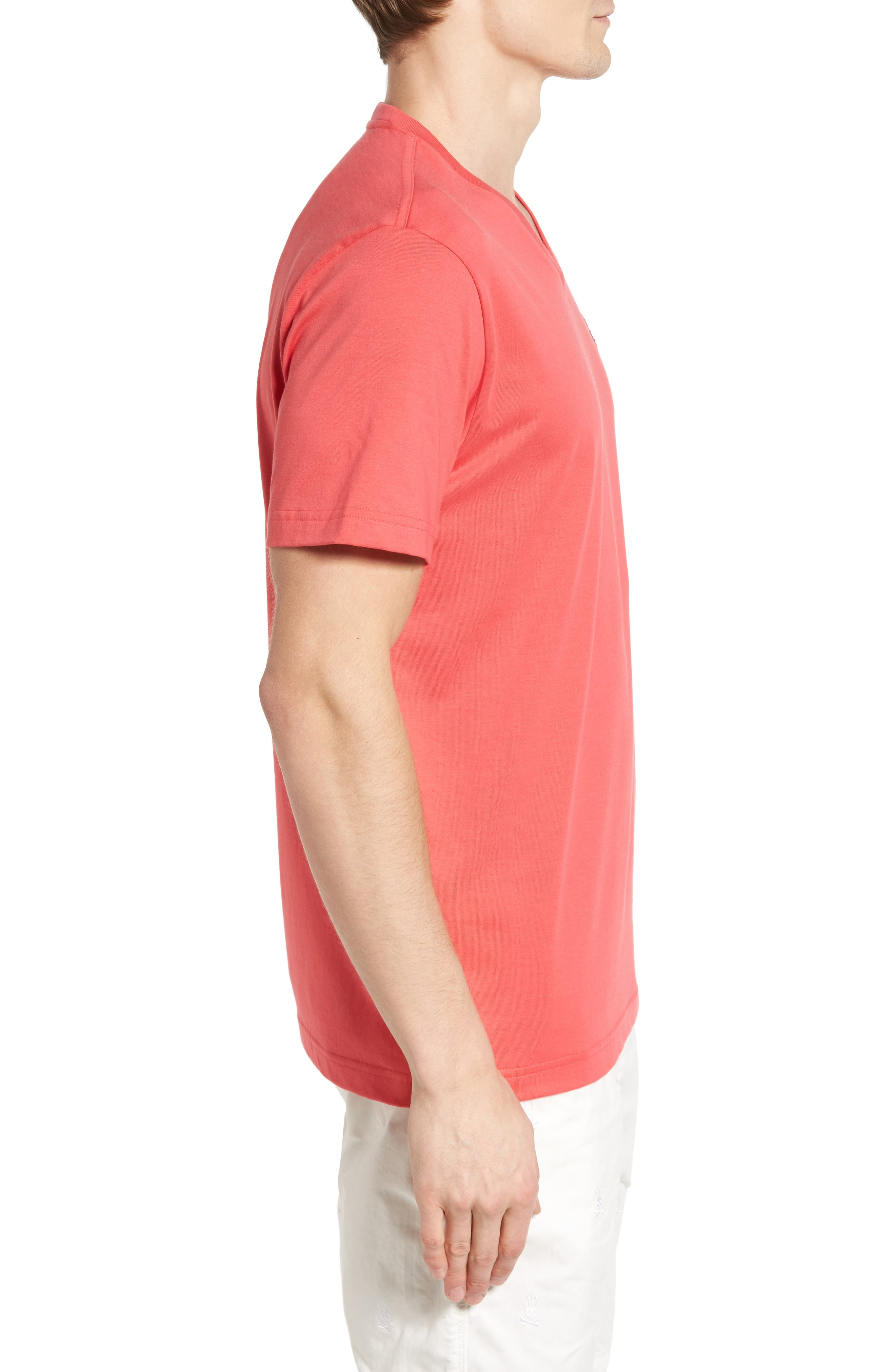 V-Neck T-Shirt,                             Alternate thumbnail 27, color,