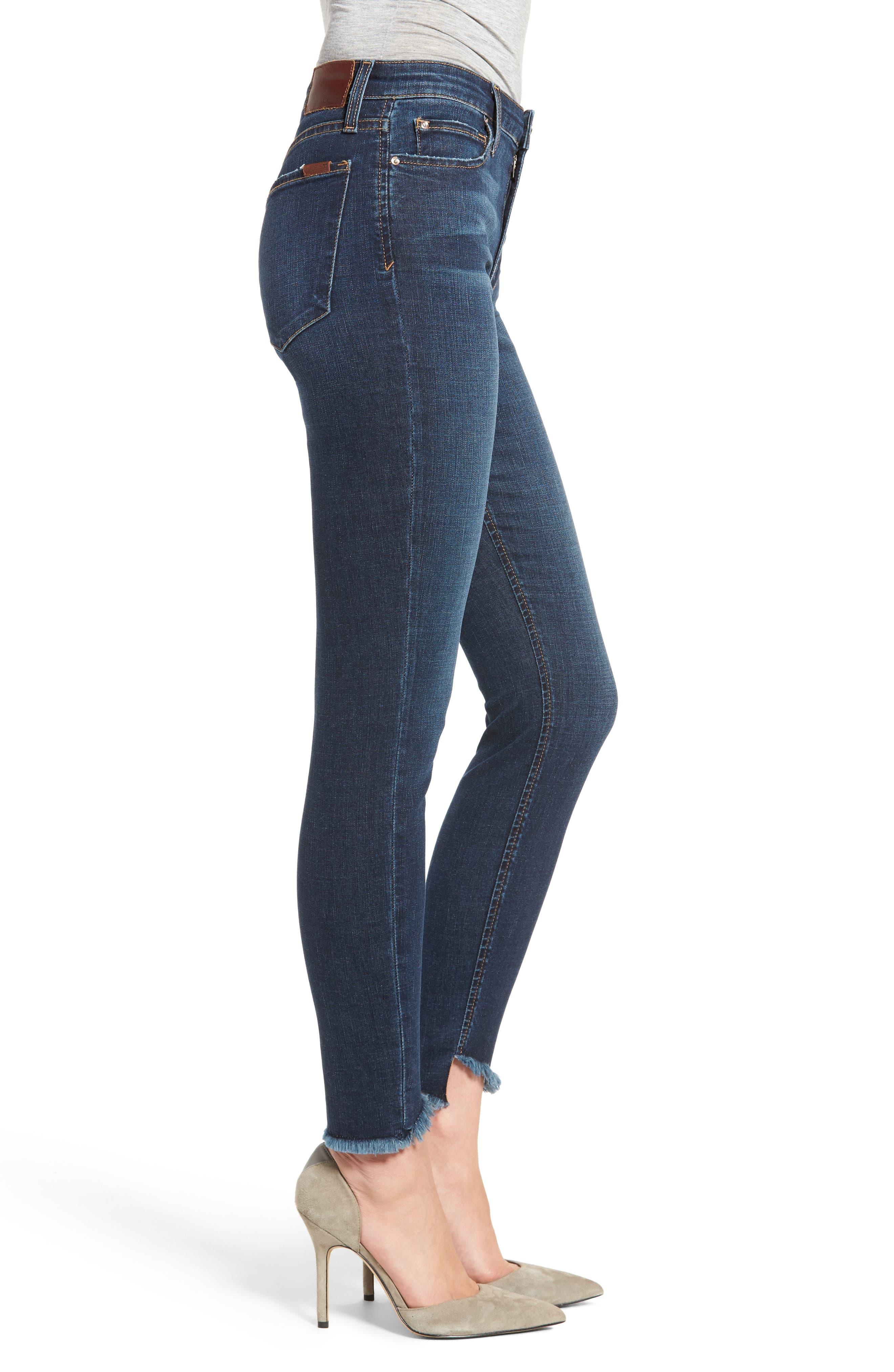 Flawless - Charlie Blondie Hem Jeans,                             Alternate thumbnail 3, color,