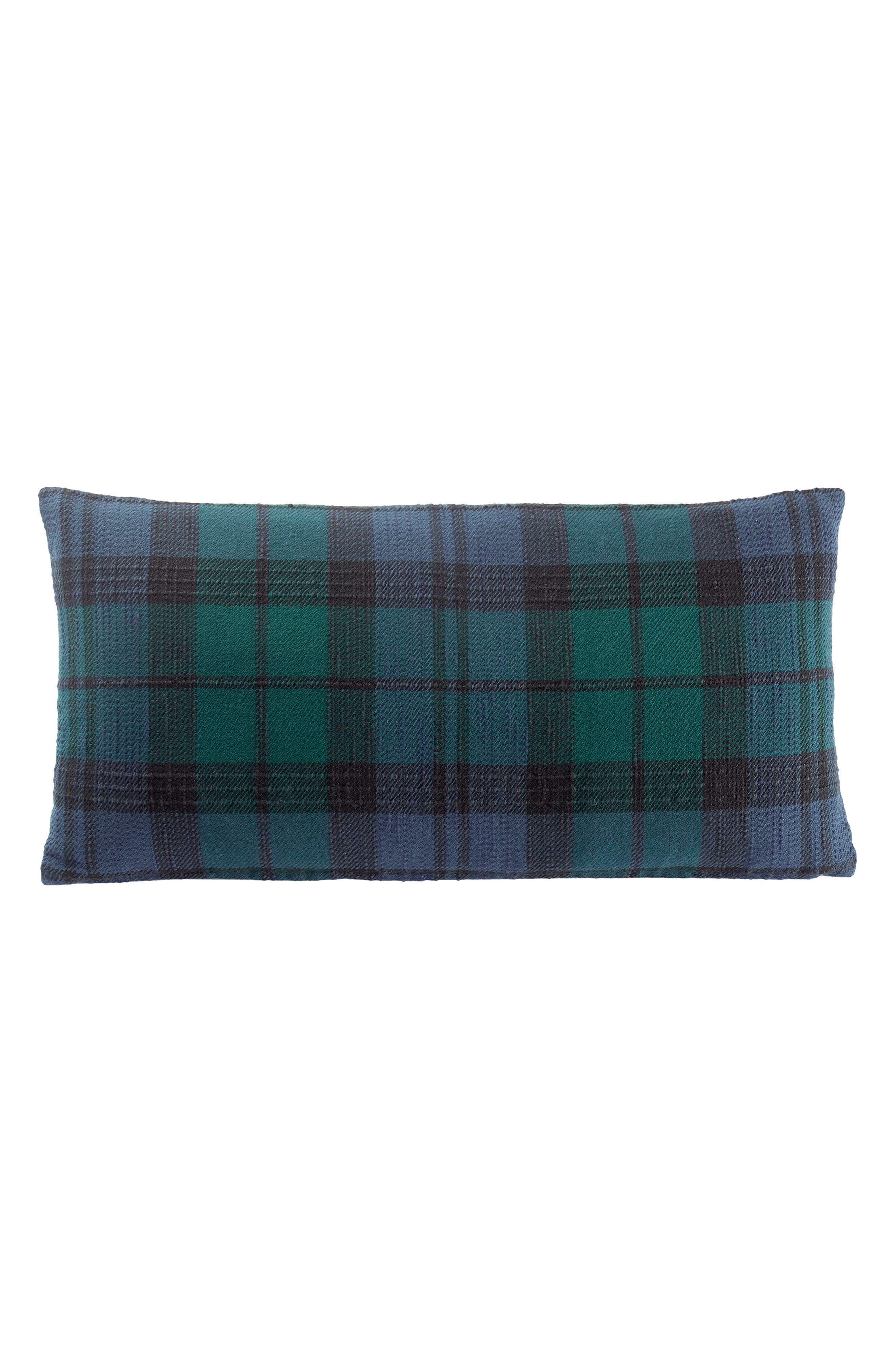 Plaid Hug Accent Pillow, Main, color, 300