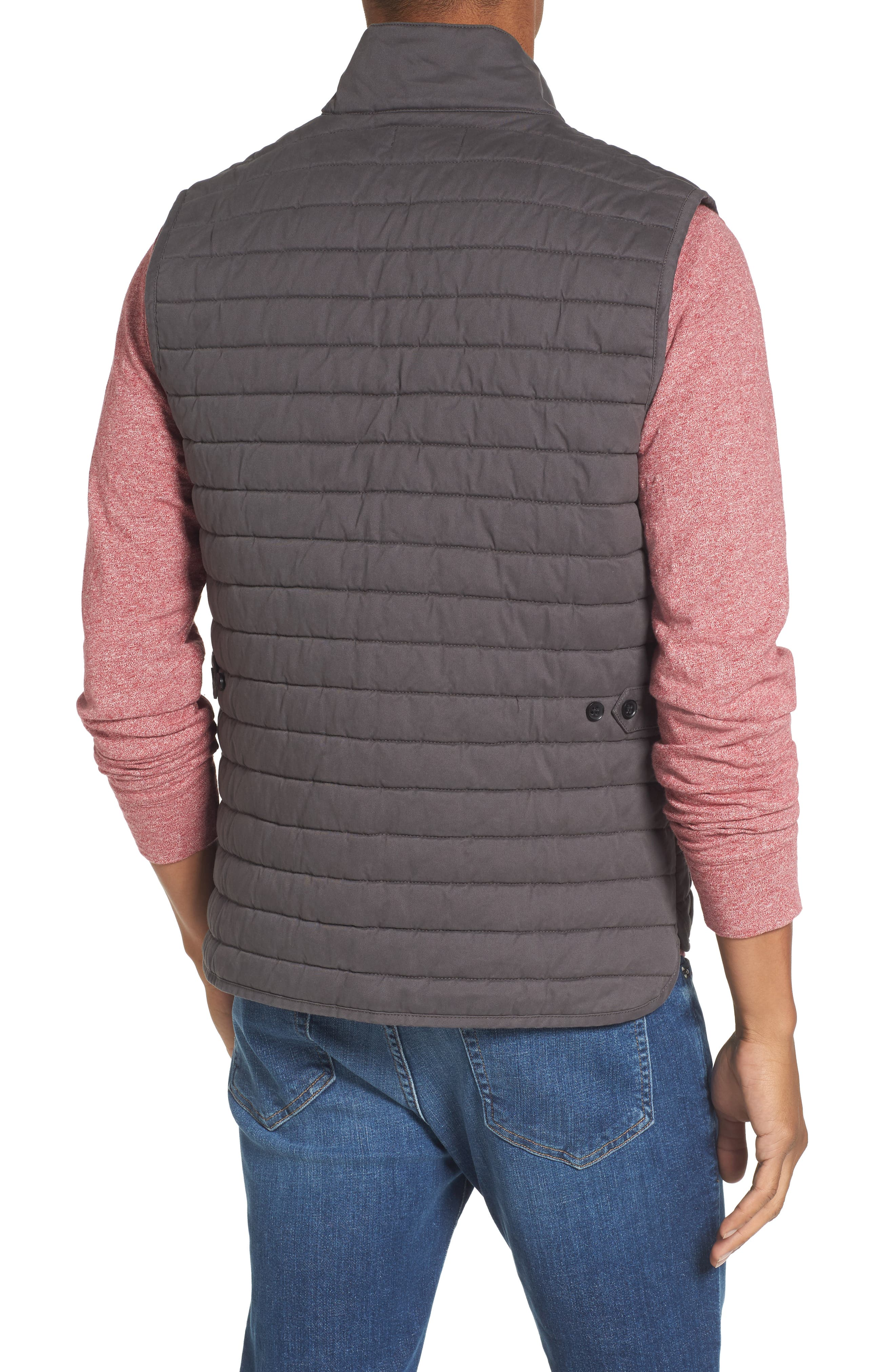 Quilted Twill Vest,                             Alternate thumbnail 2, color,                             021