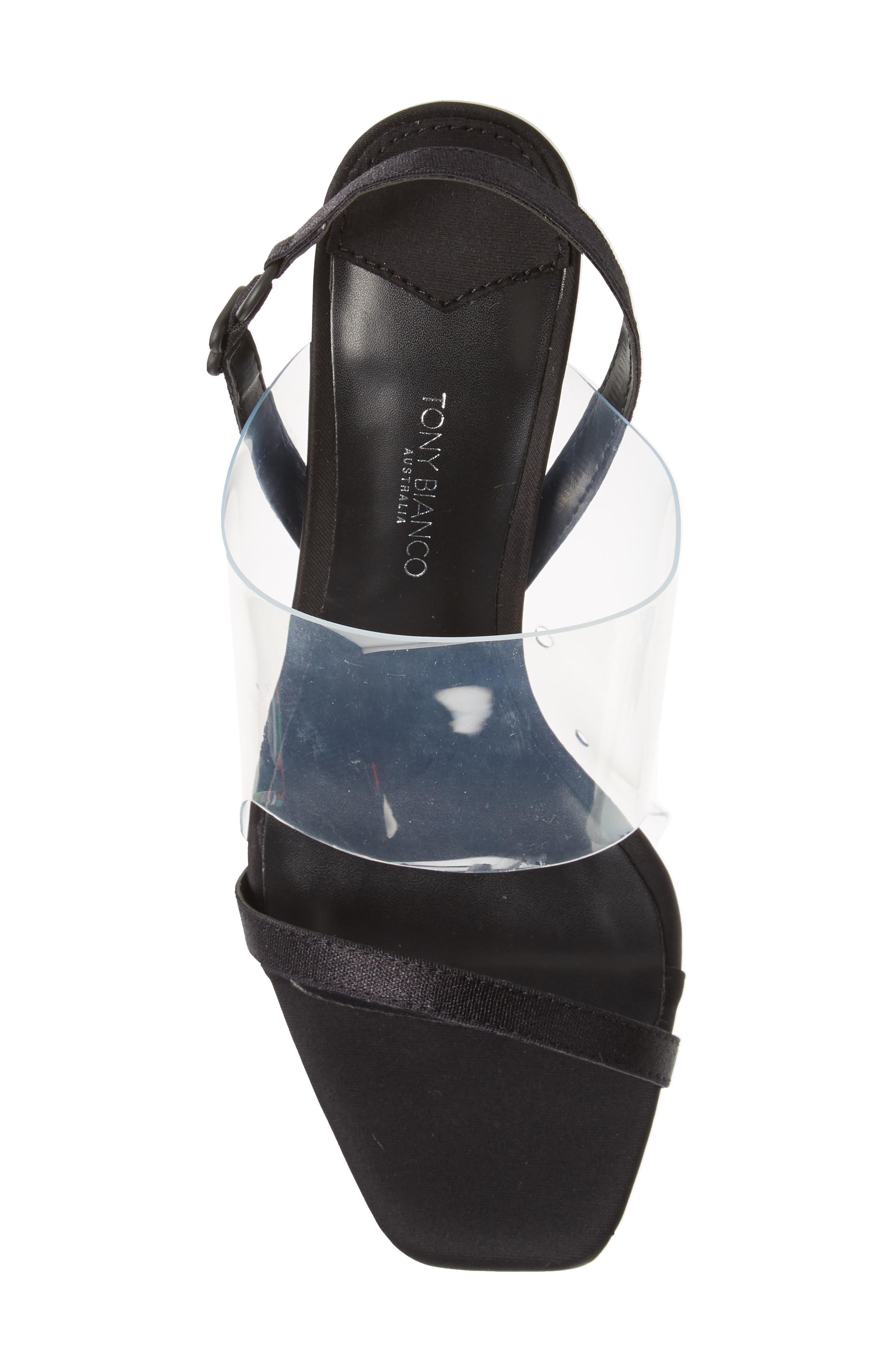Sandal,                             Alternate thumbnail 5, color,                             BLACK