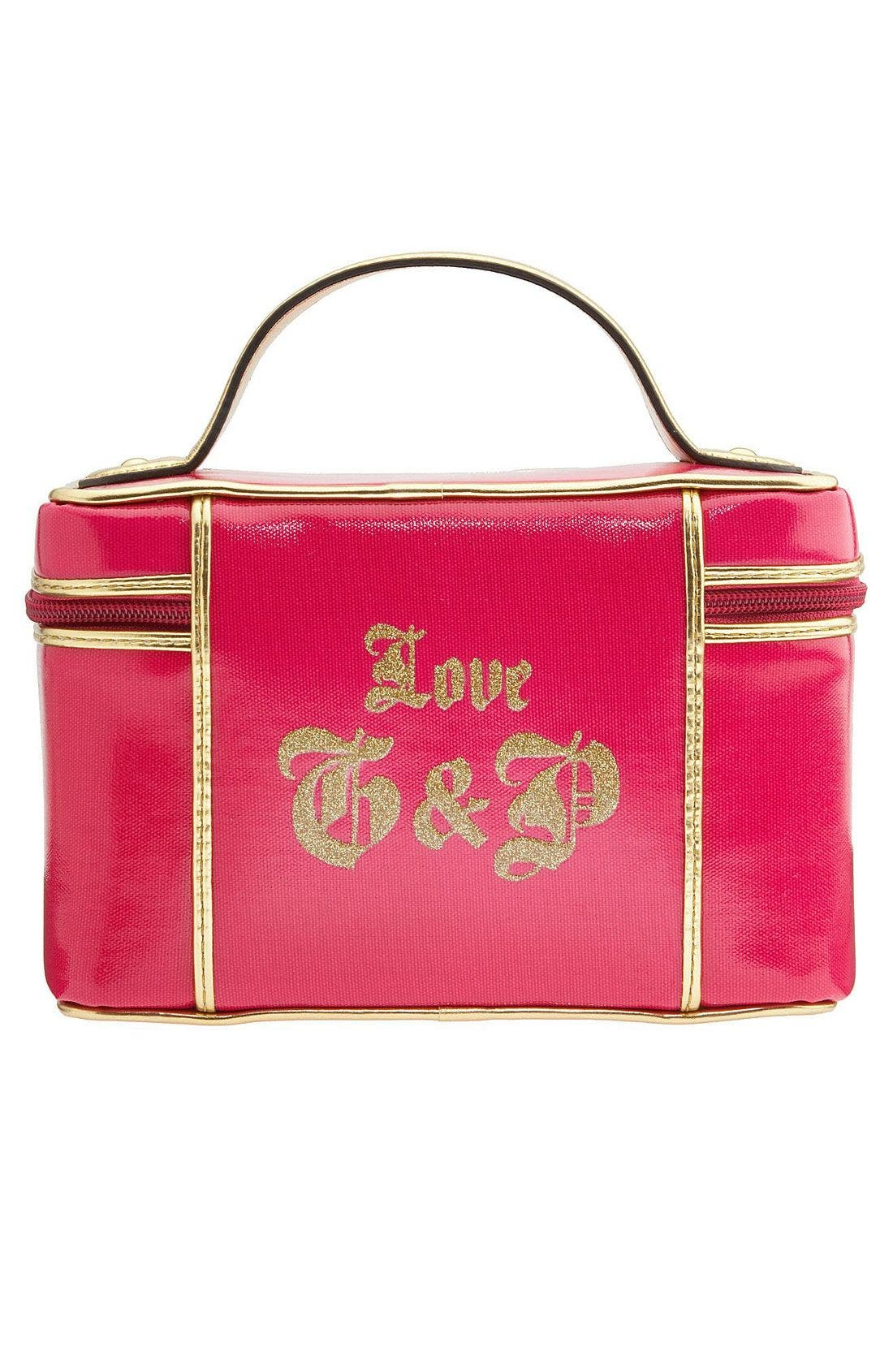 'Viva la Juicy' Cosmetics Case,                             Alternate thumbnail 2, color,                             659
