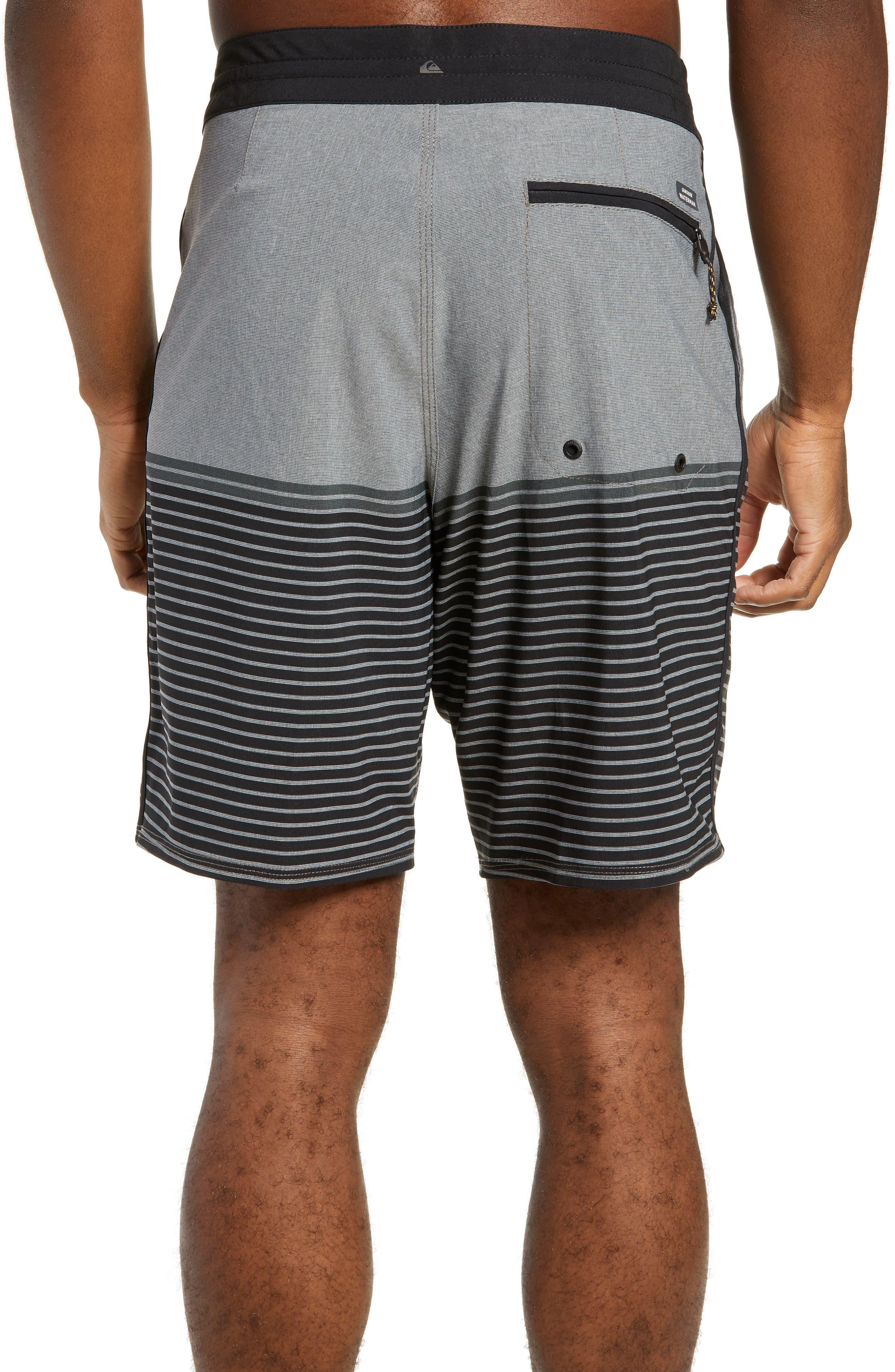 Liberty Stripe Board Shorts,                             Alternate thumbnail 2, color,                             DARK SHADOW