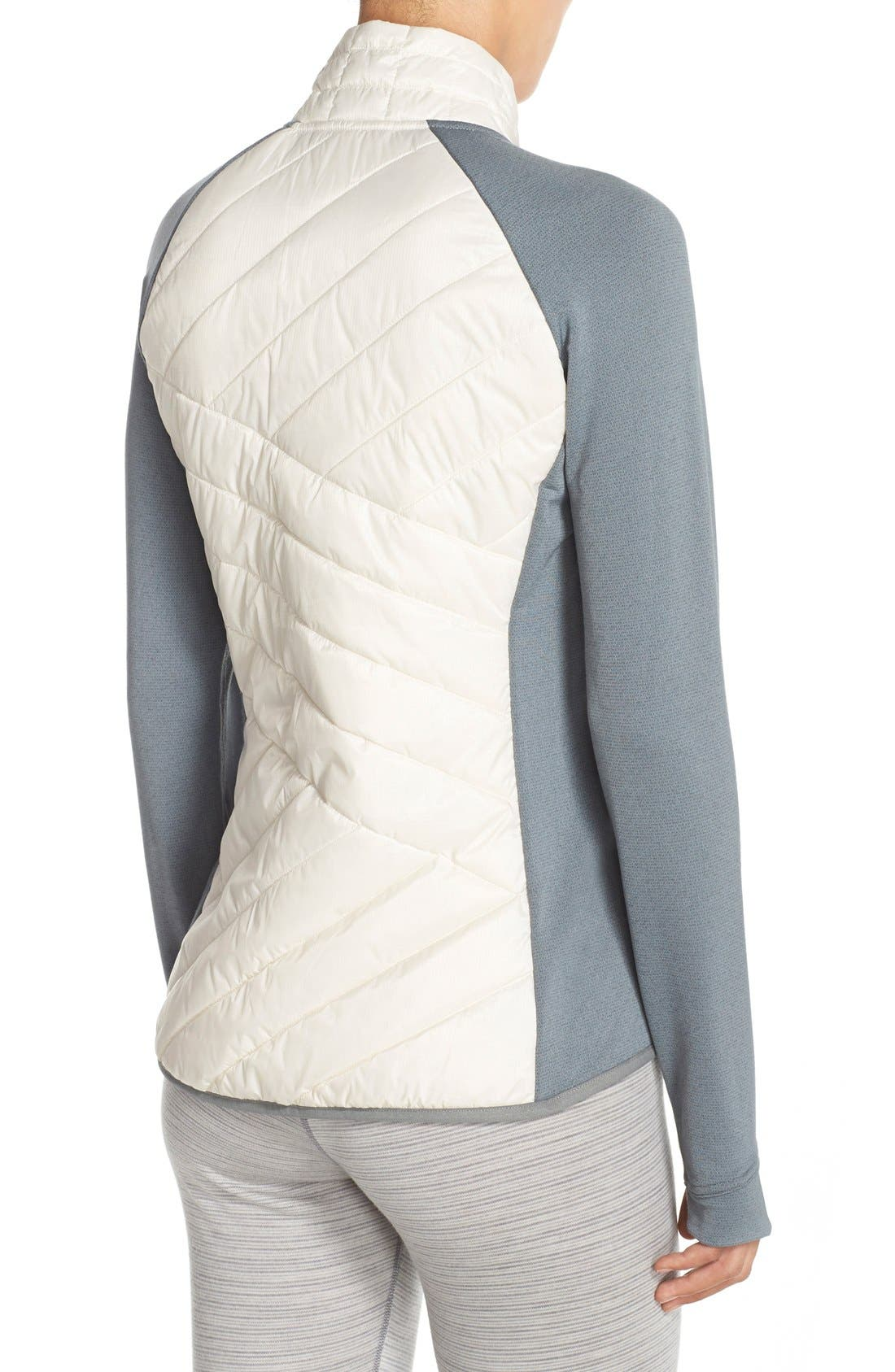 'Double Corbet 120' Water Resistant Quilted Jacket,                             Alternate thumbnail 5, color,                             100