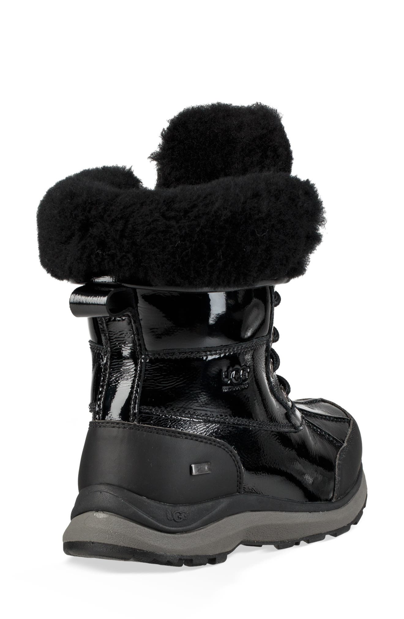Adirondack III Waterproof Insulated Patent Winter Boot,                             Alternate thumbnail 2, color,                             001