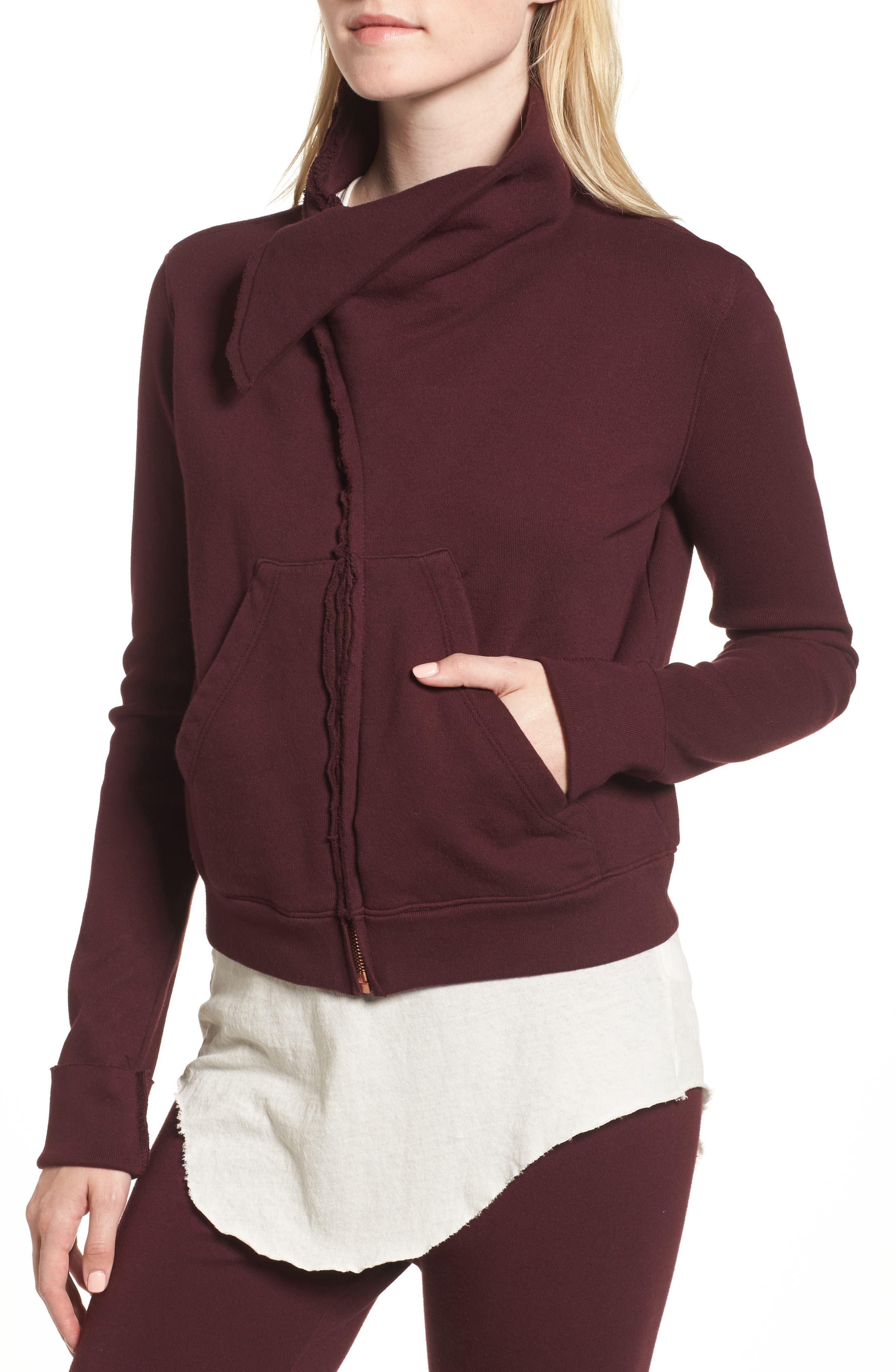 Zip Fleece Jacket,                             Alternate thumbnail 4, color,