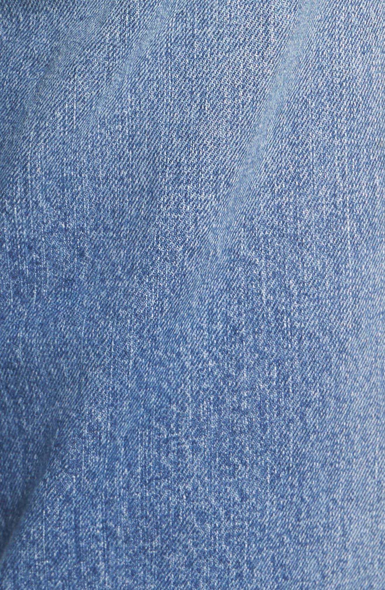 Taylor Ripped Crop Boyfriend Jeans,                             Alternate thumbnail 5, color,                             400