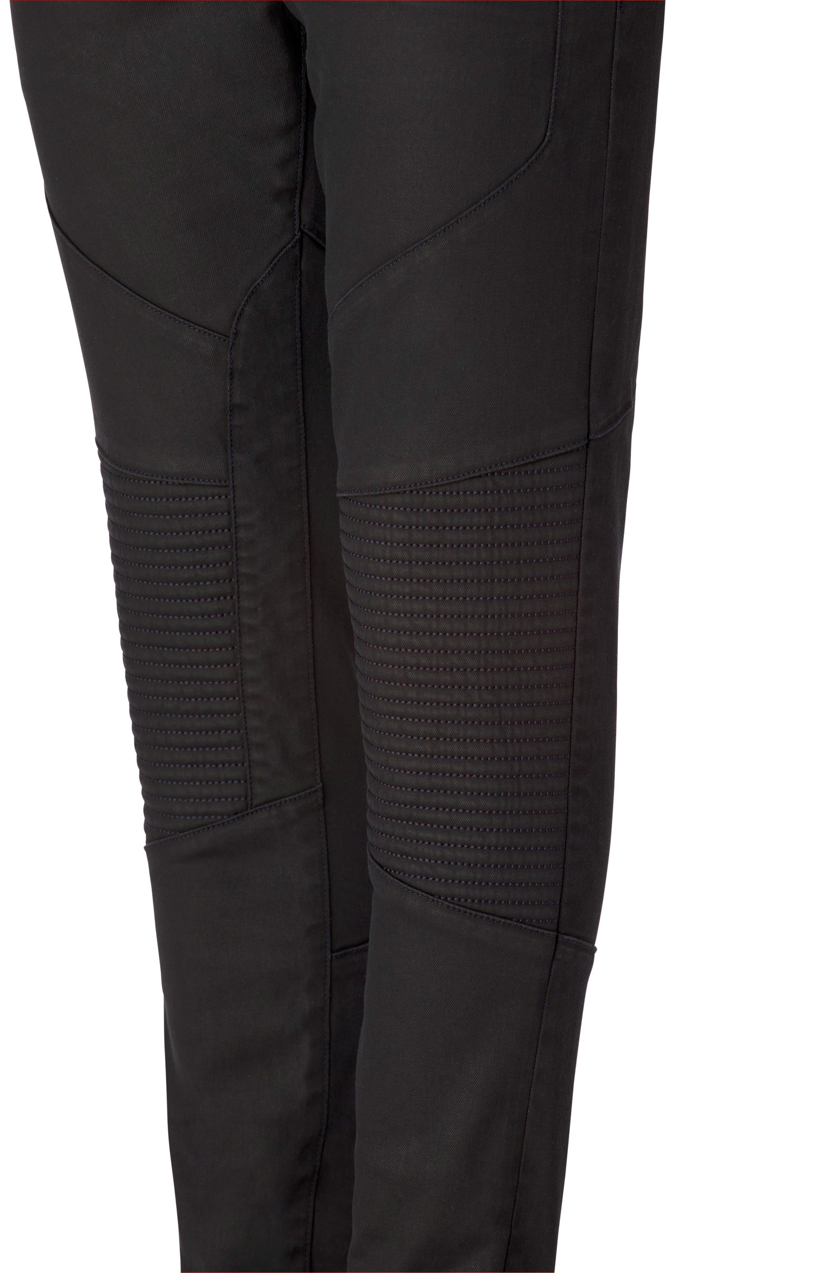 Bearden Moto Skinny Fit Jeans,                             Alternate thumbnail 4, color,