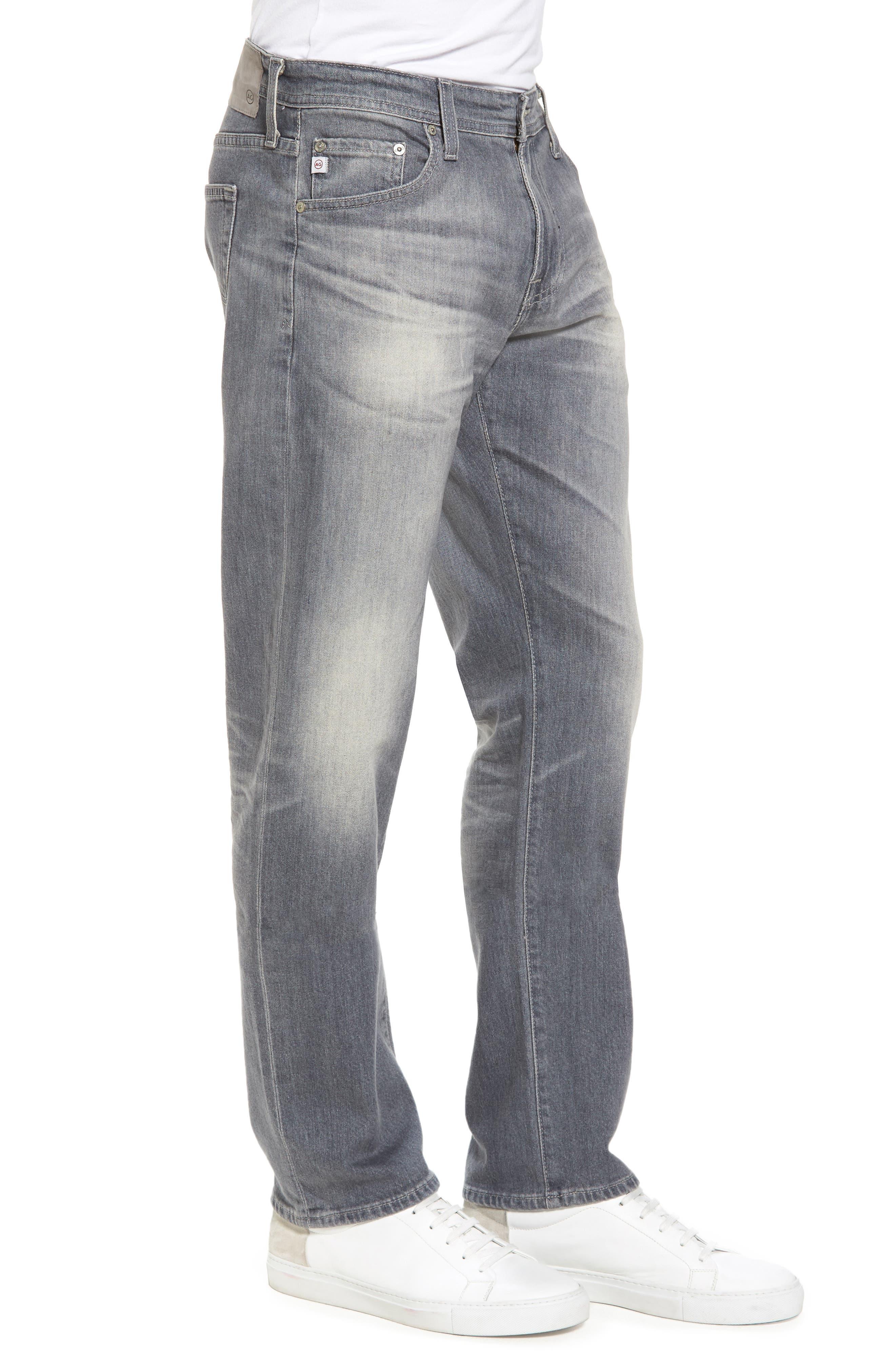 Graduate Slim Straight Fit Jeans,                             Alternate thumbnail 3, color,                             020