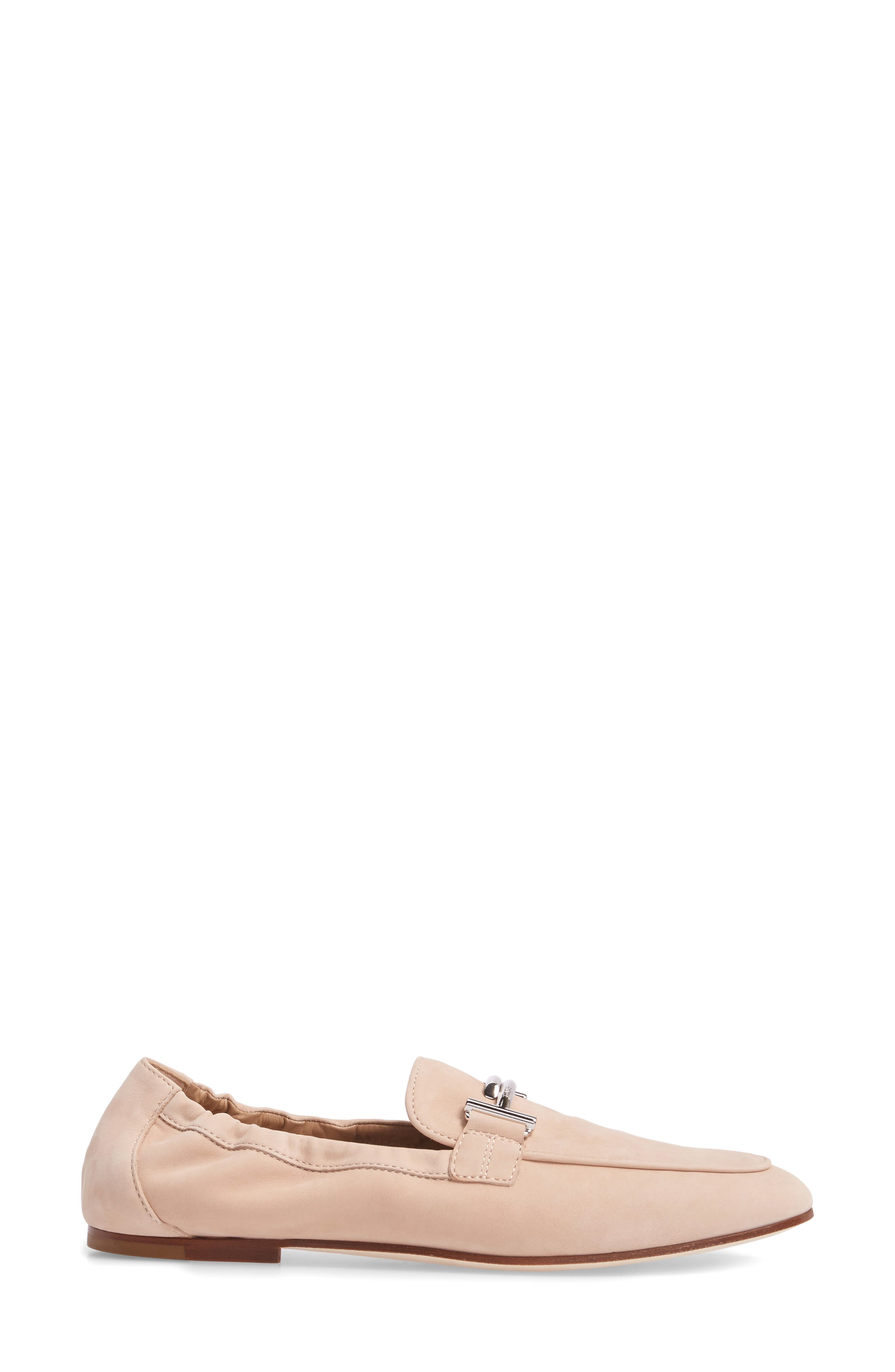 Double T Scrunch Loafer,                             Alternate thumbnail 11, color,
