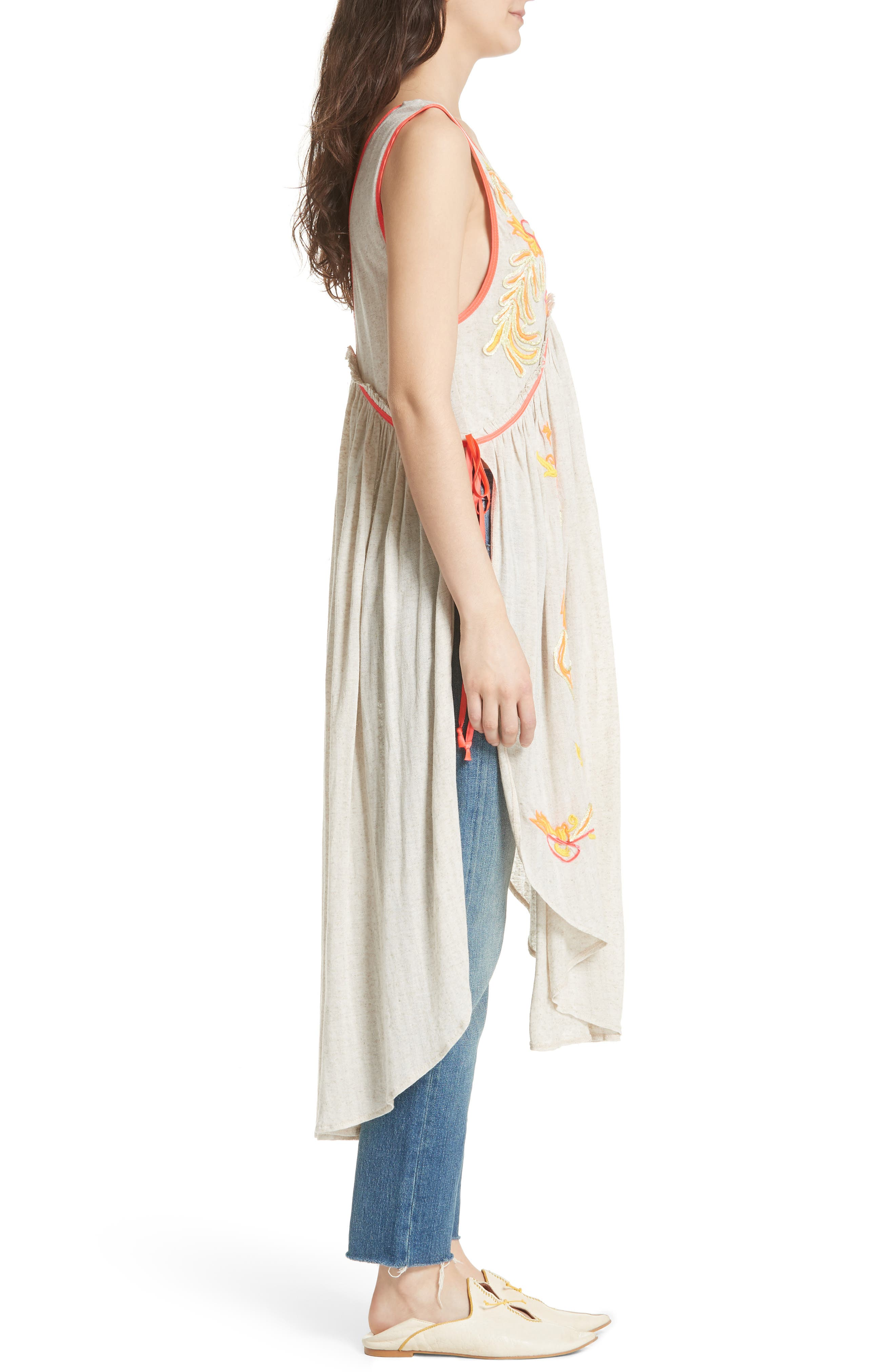 Summer Lovin' Embroidered Tunic,                             Alternate thumbnail 3, color,                             902
