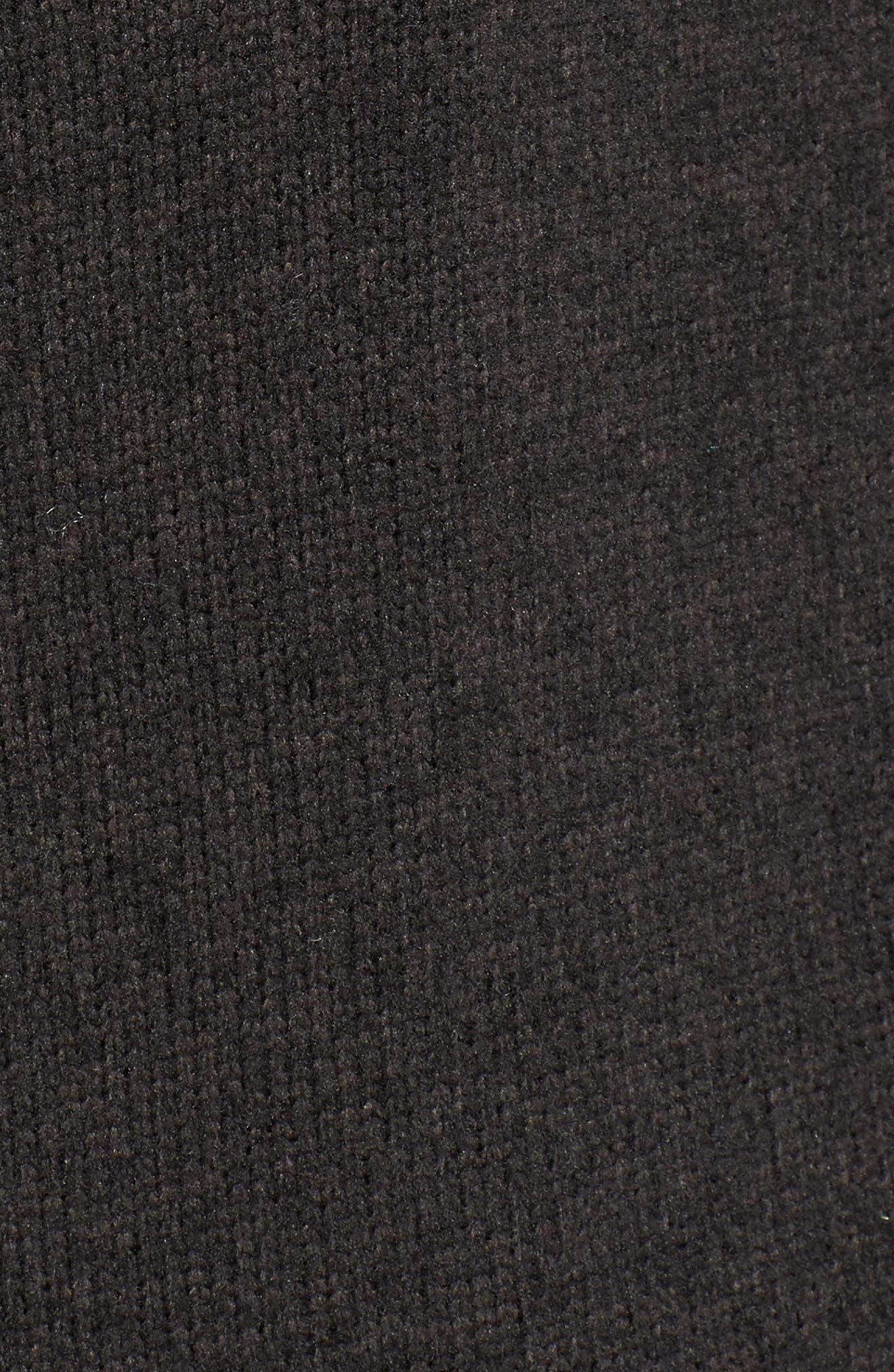 Crescent Wrap,                             Alternate thumbnail 6, color,                             TNF BLACK HEATHER