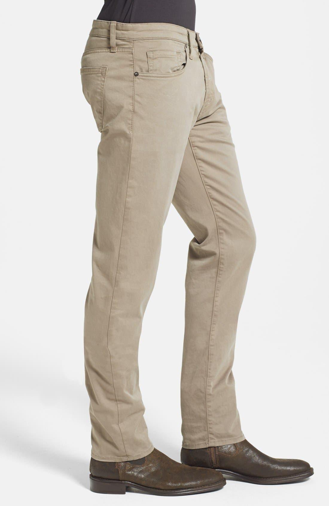 'Kane' Slim Fit Cotton Twill Pants,                             Alternate thumbnail 81, color,