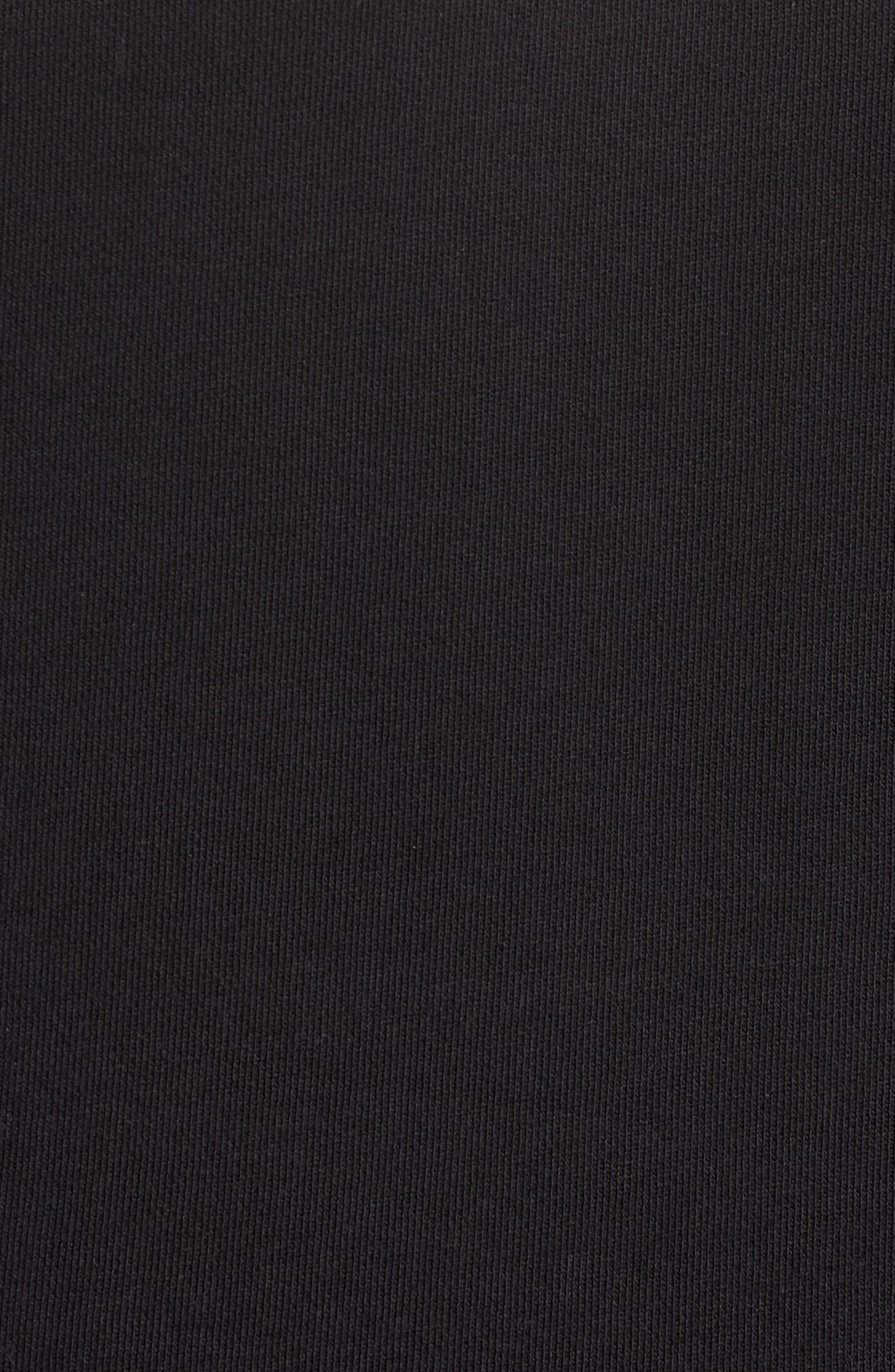 Colorblock Quarter Zip Pullover,                             Alternate thumbnail 5, color,                             TAWNY PORT