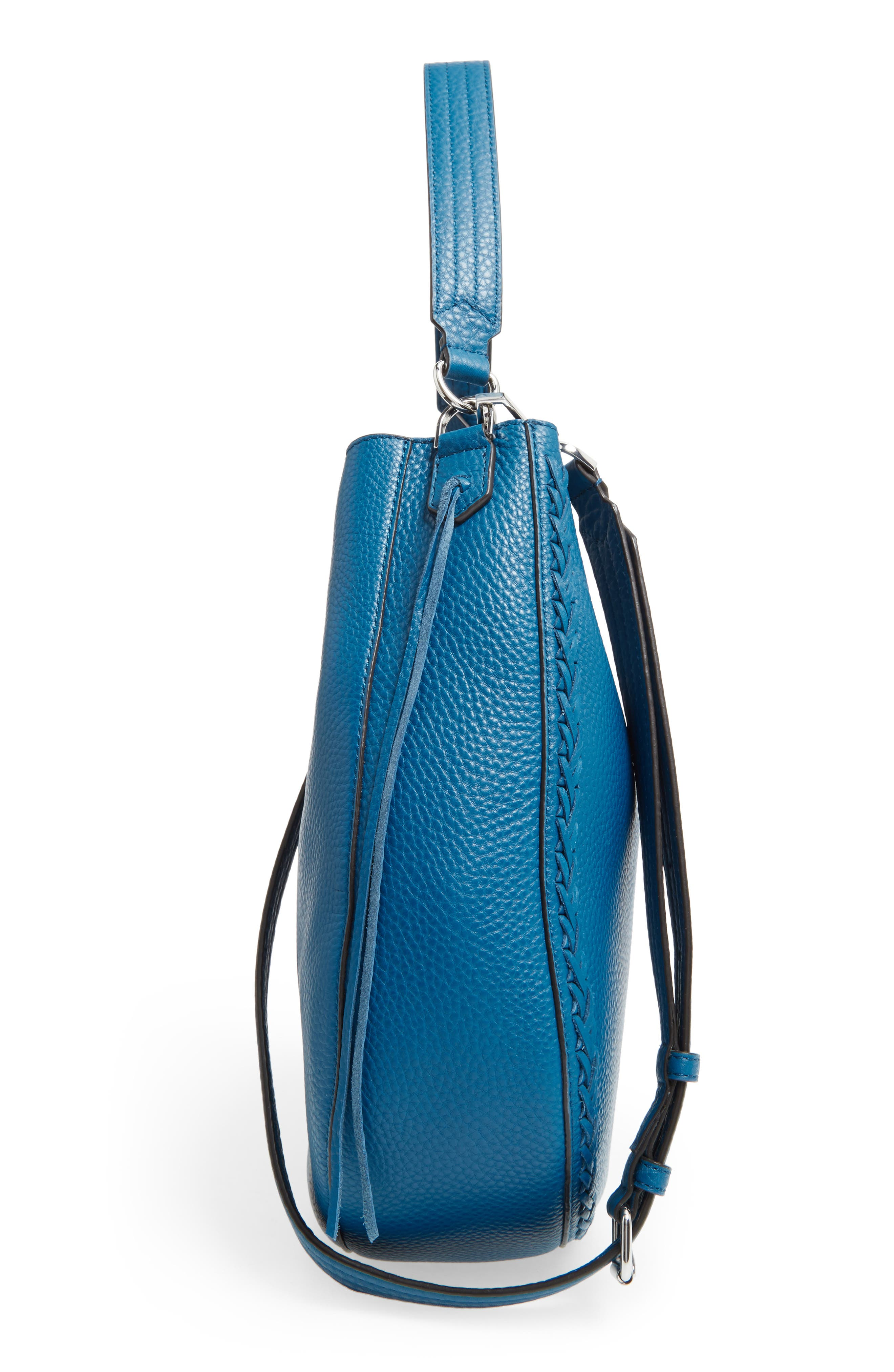 Unlined Convertible Whipstitch Hobo,                             Alternate thumbnail 33, color,