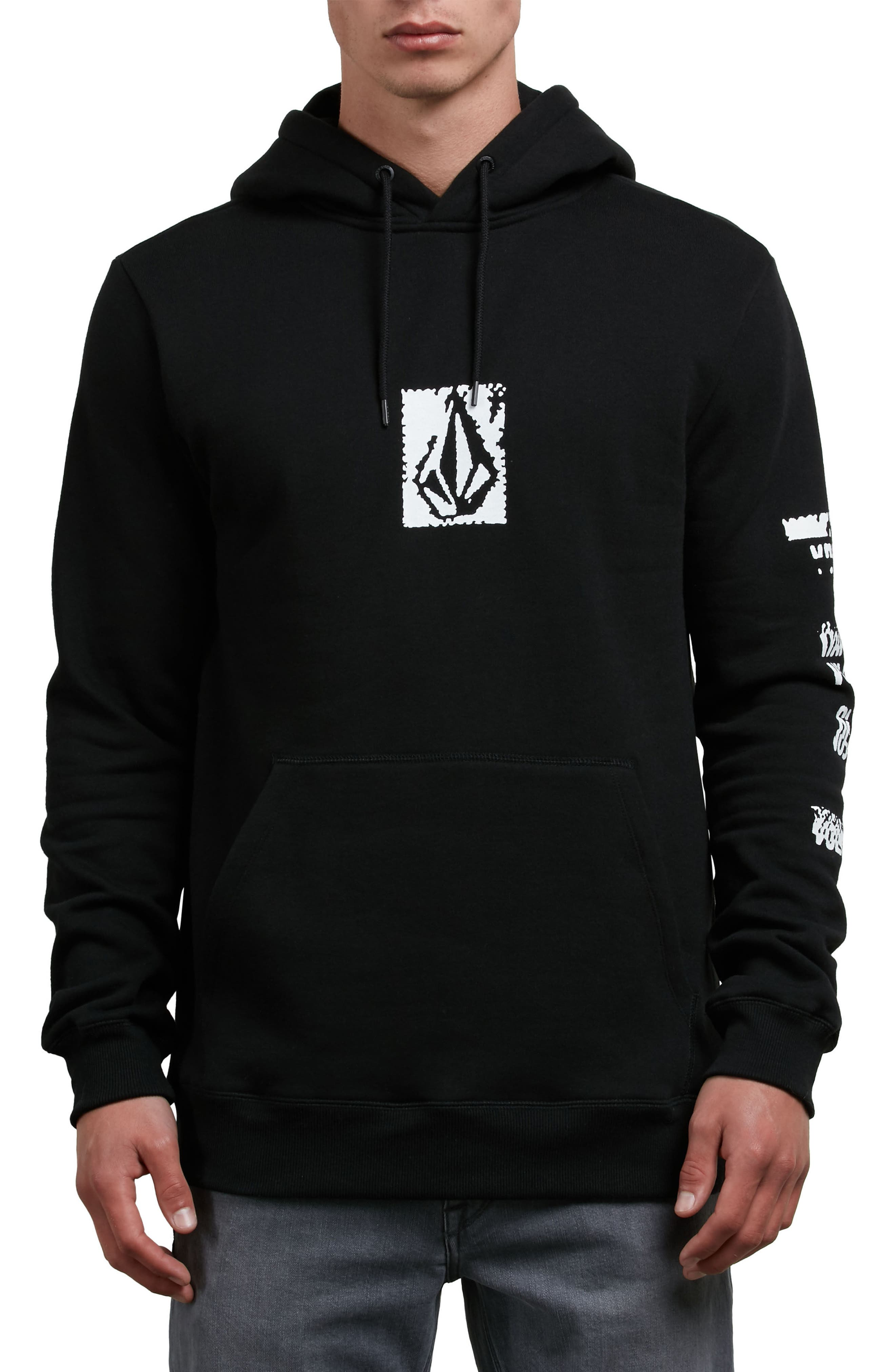 Supply Stone Graphic Hoodie,                             Main thumbnail 1, color,                             001