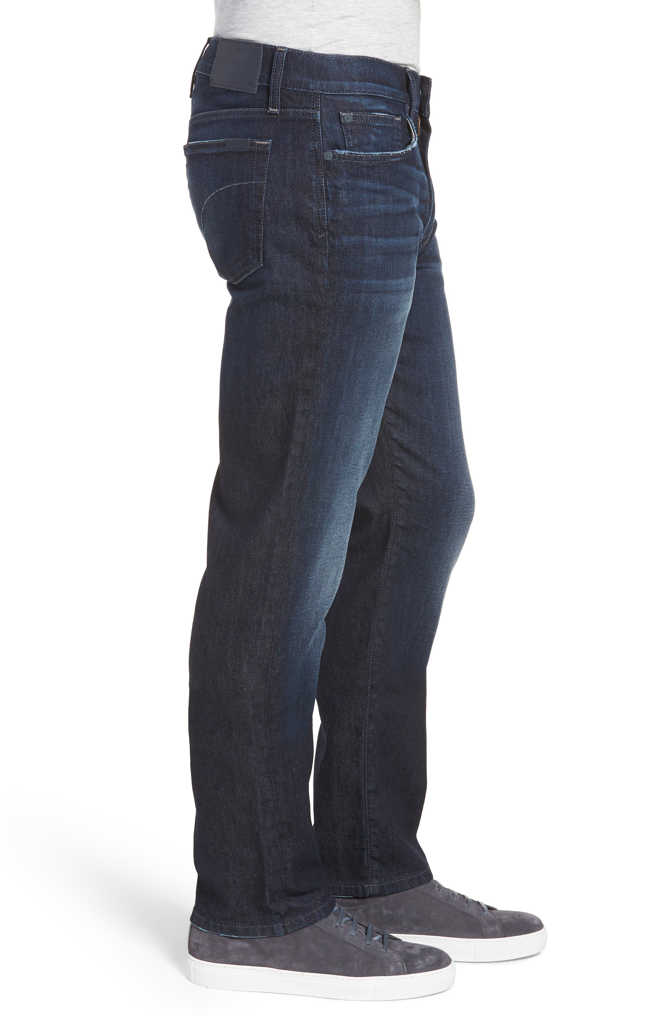 Classic Straight Fit Jeans,                             Alternate thumbnail 3, color,                             LUCAN