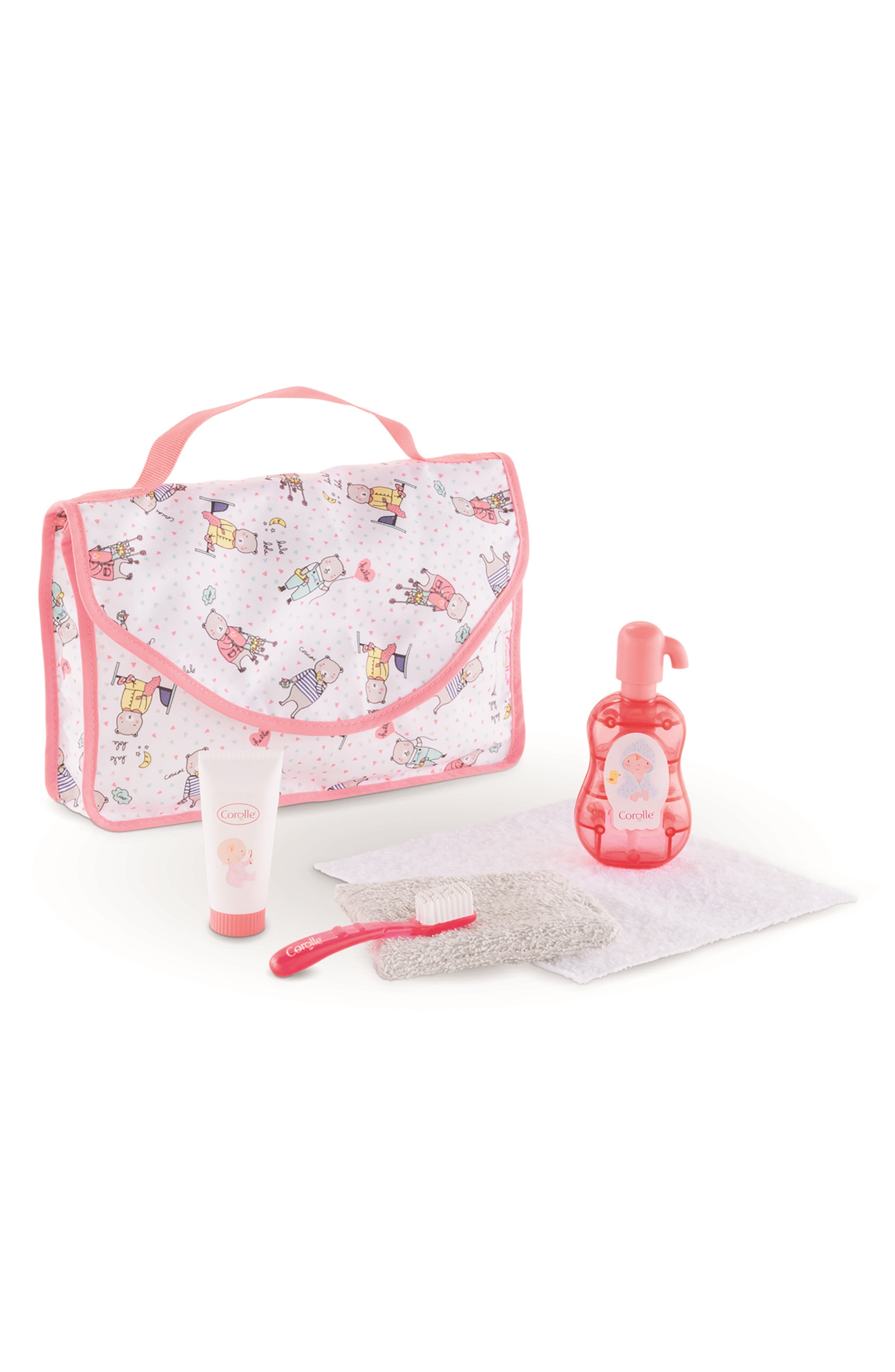 Toddler Girls Corolle Baby Doll Care Set