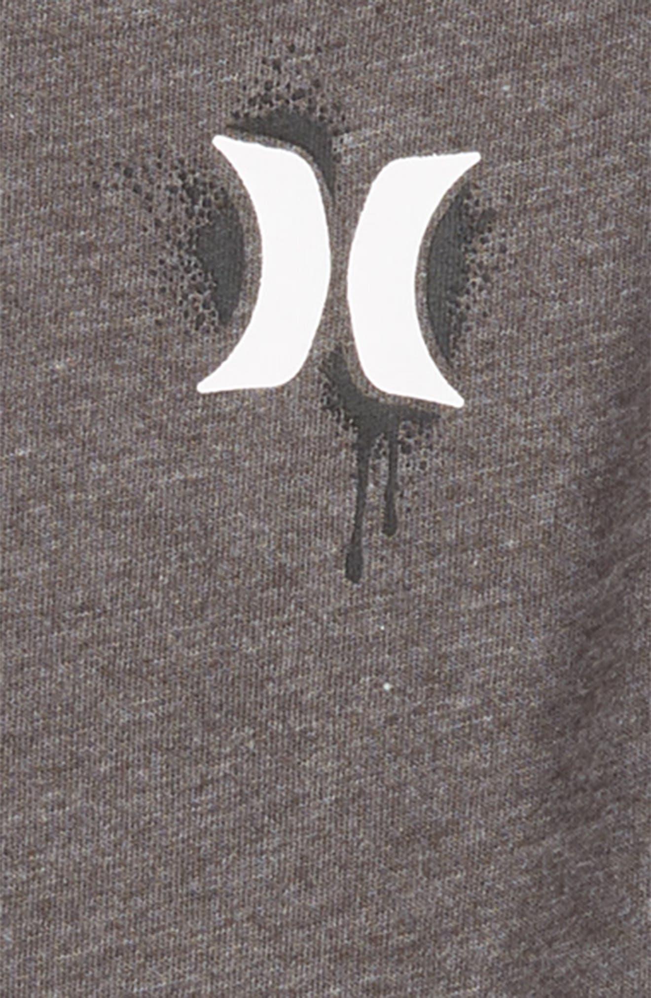 Shark T-Shirt,                             Alternate thumbnail 3, color,                             CHARCOAL HEATHER
