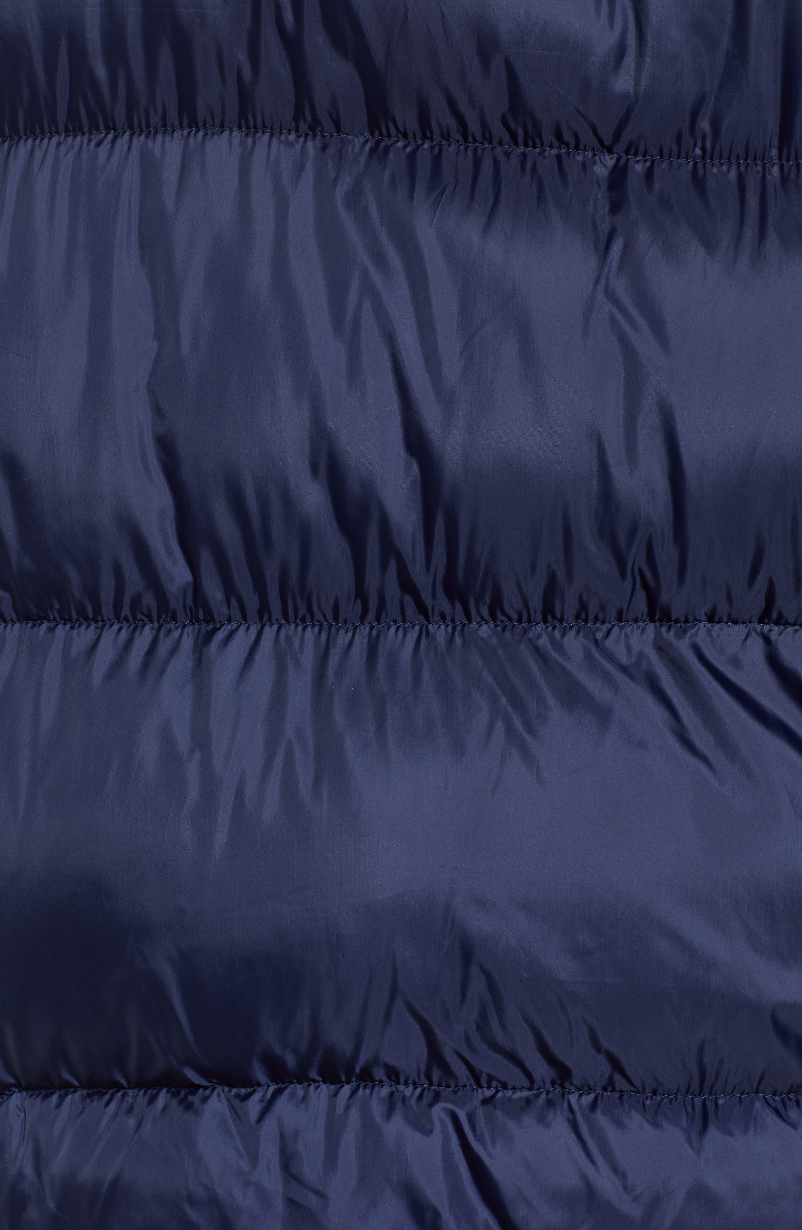 Classics Hooded Jacket,                             Alternate thumbnail 7, color,                             BLACK IRIS / TOMMY BLACK