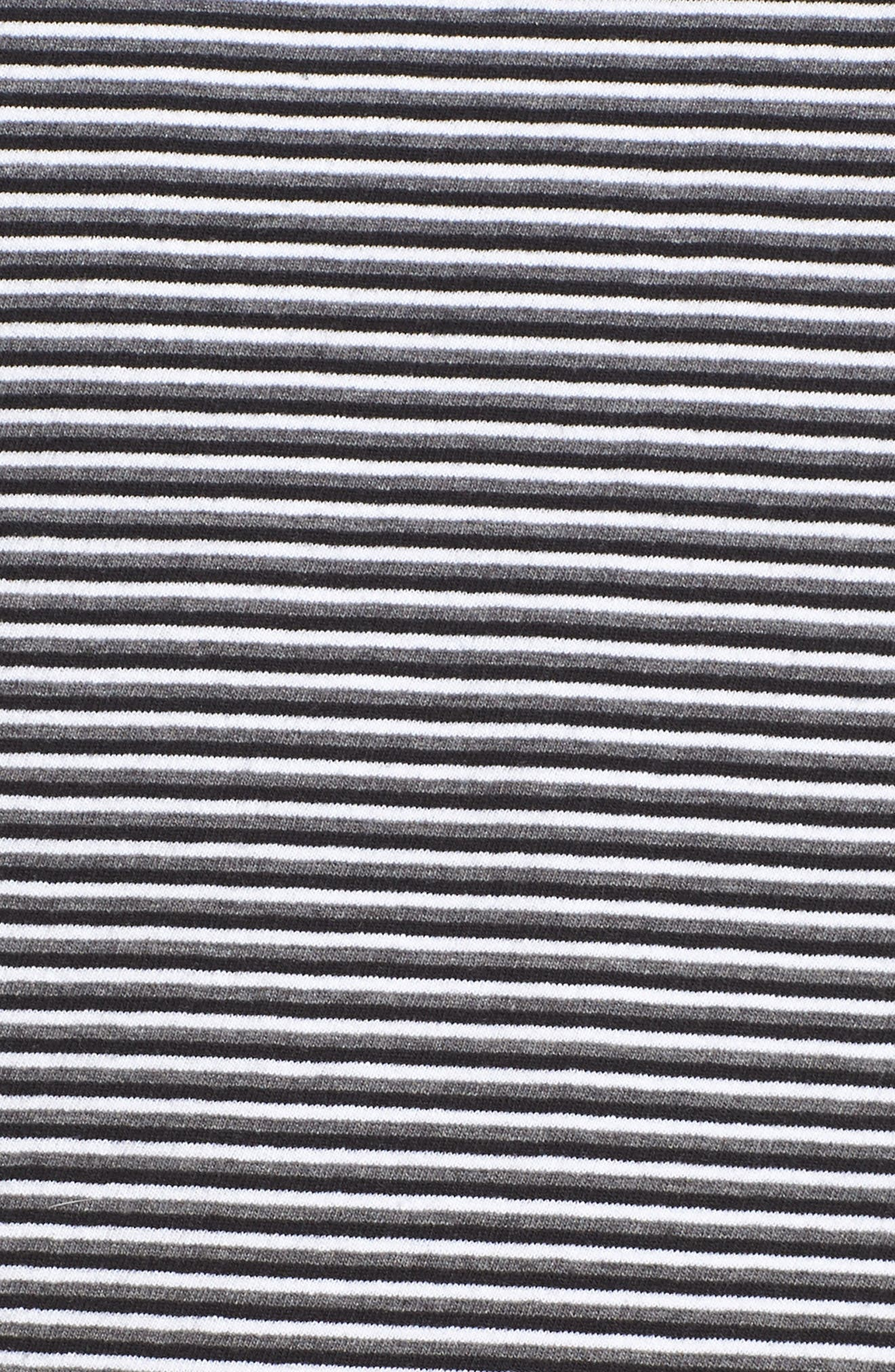 Azul Ringer Stripe T-Shirt Dress,                             Alternate thumbnail 5, color,                             400