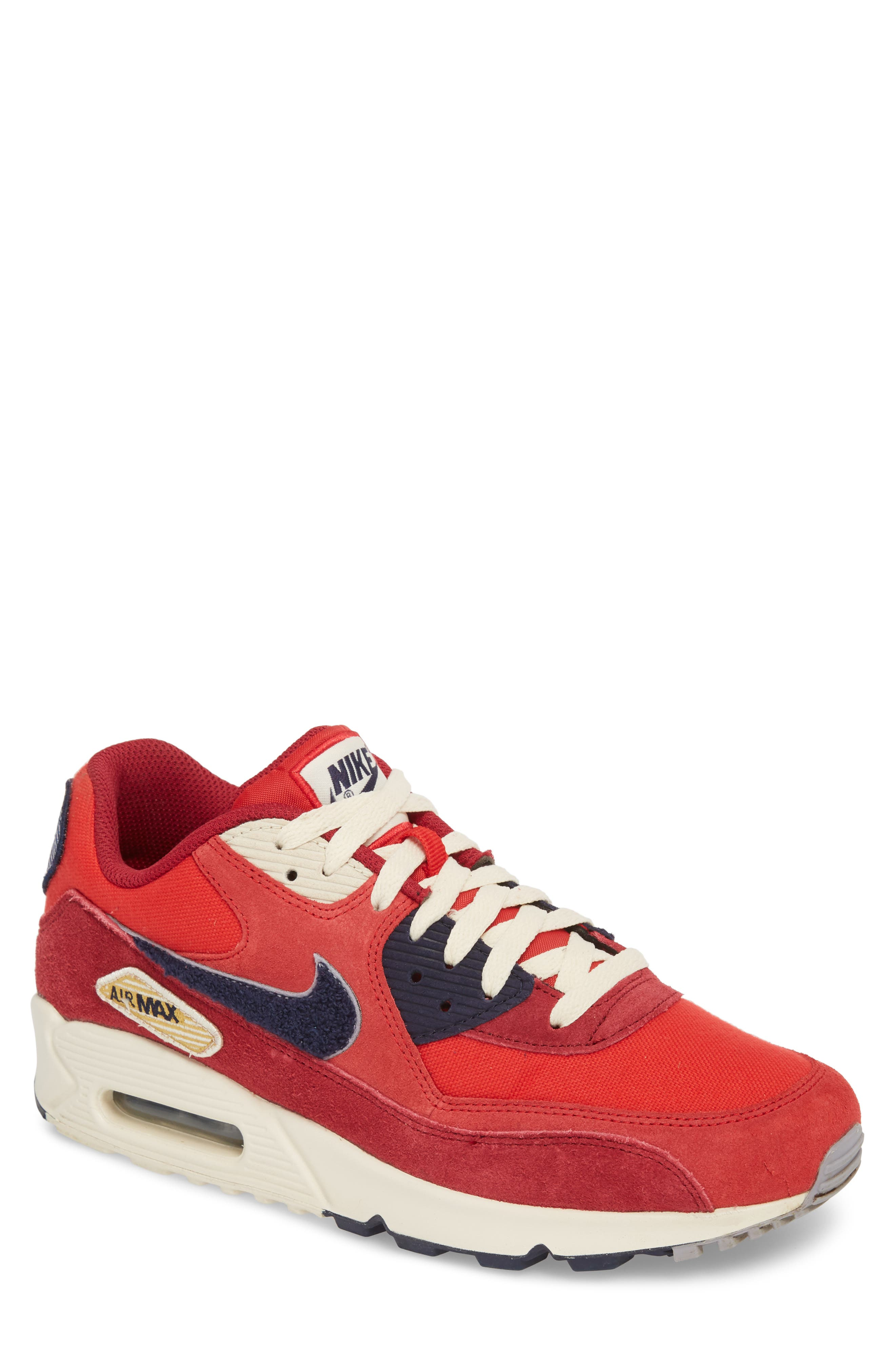 Air Max 90 Premium Sneaker,                             Main thumbnail 2, color,