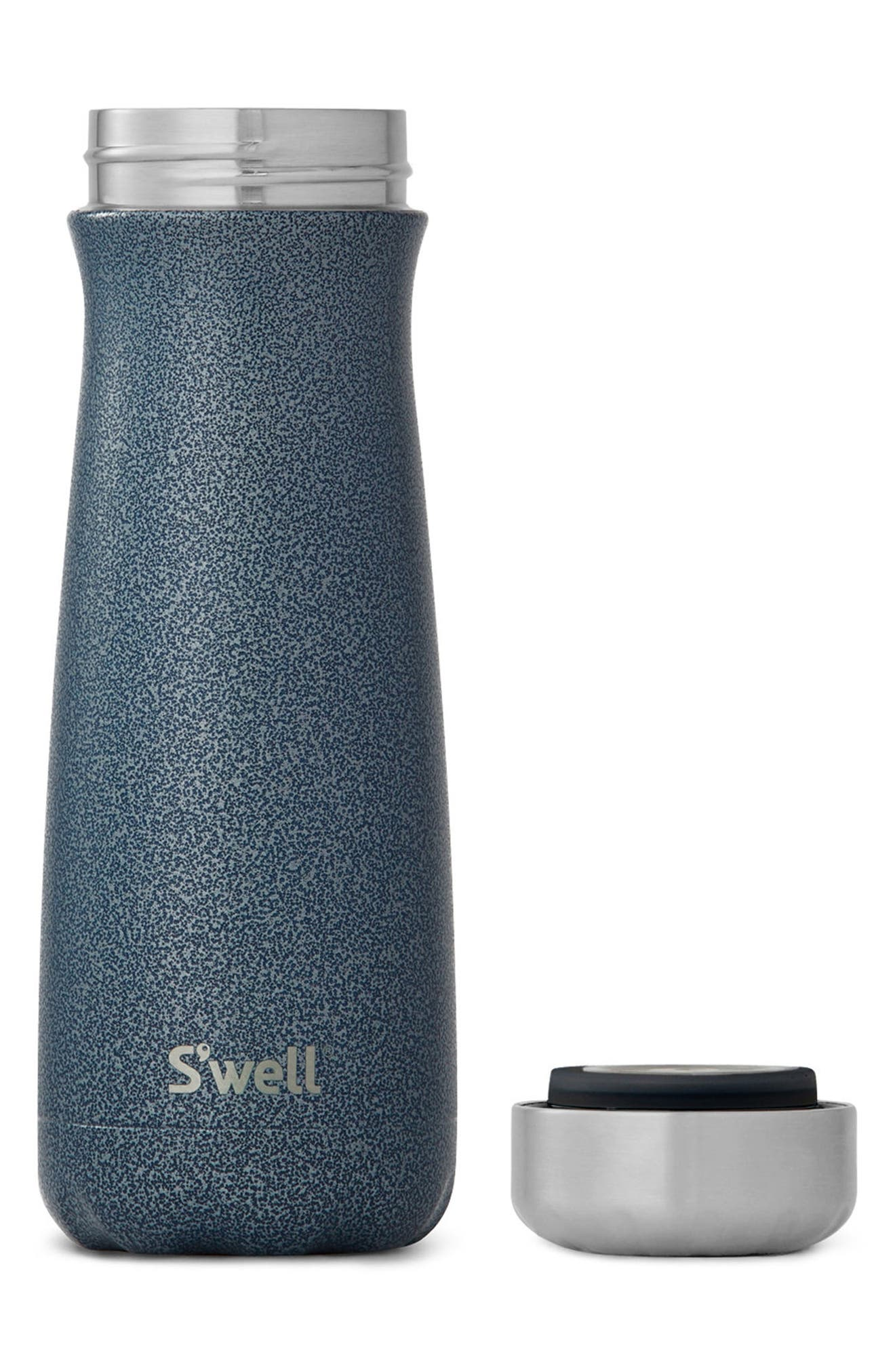 Traveler Night Sky Insulated Stainless Steel Water Bottle,                             Alternate thumbnail 2, color,                             NIGHT SKY