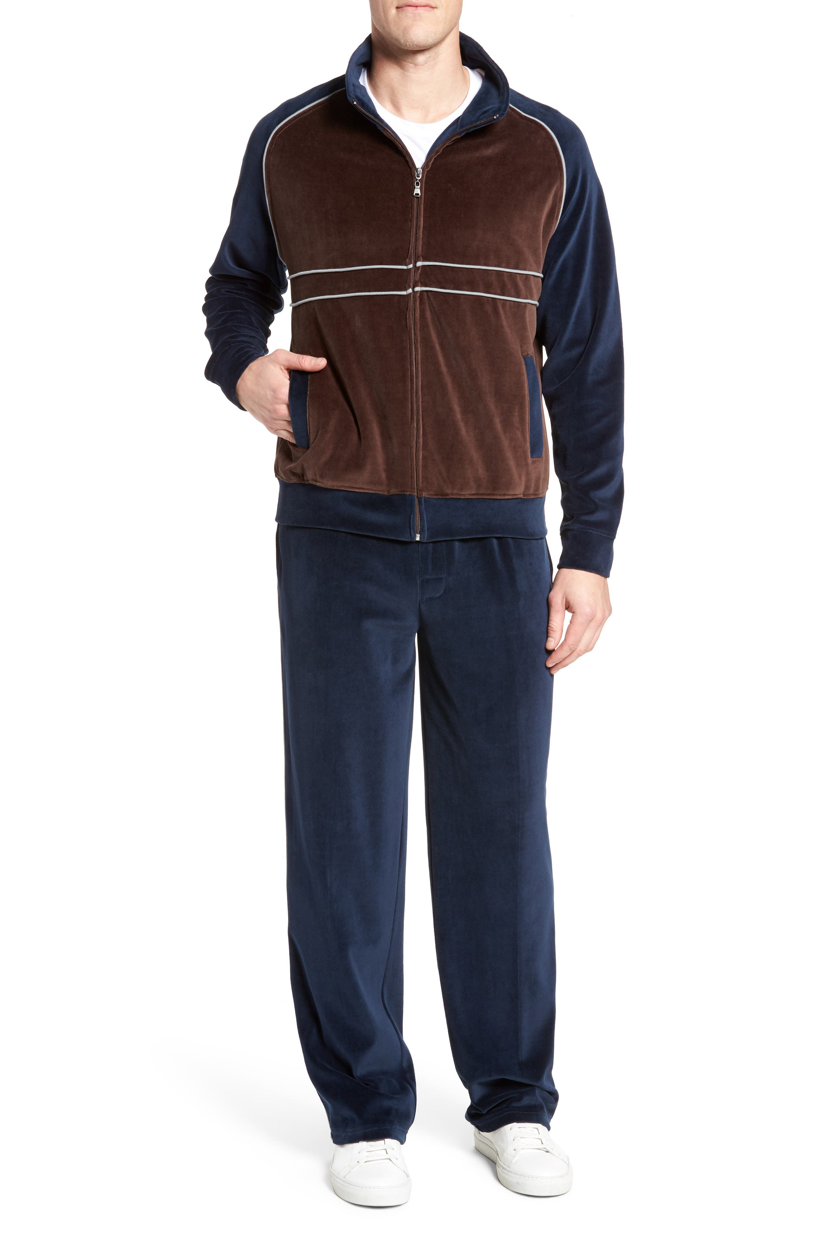 Strathcona Velour Warm-Up Suit,                             Main thumbnail 1, color,                             410