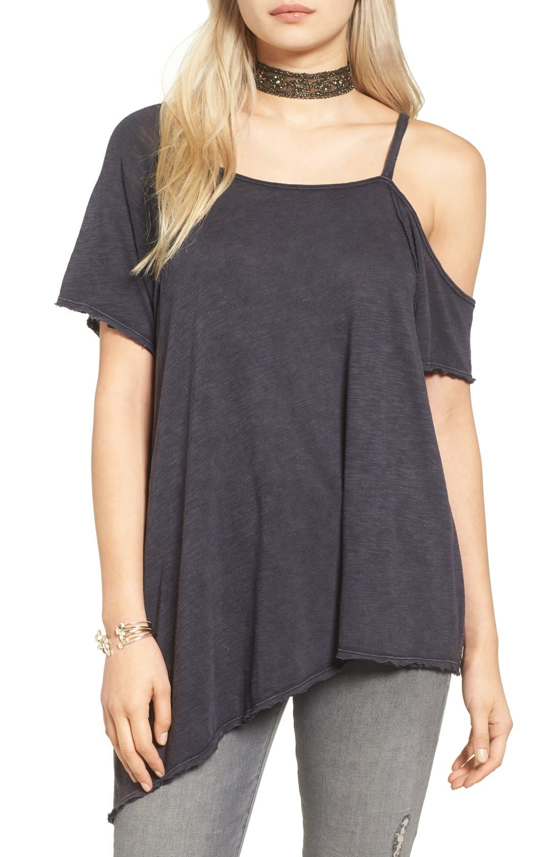FREE PEOPLE,                             Coraline Tee,                             Alternate thumbnail 6, color,                             030