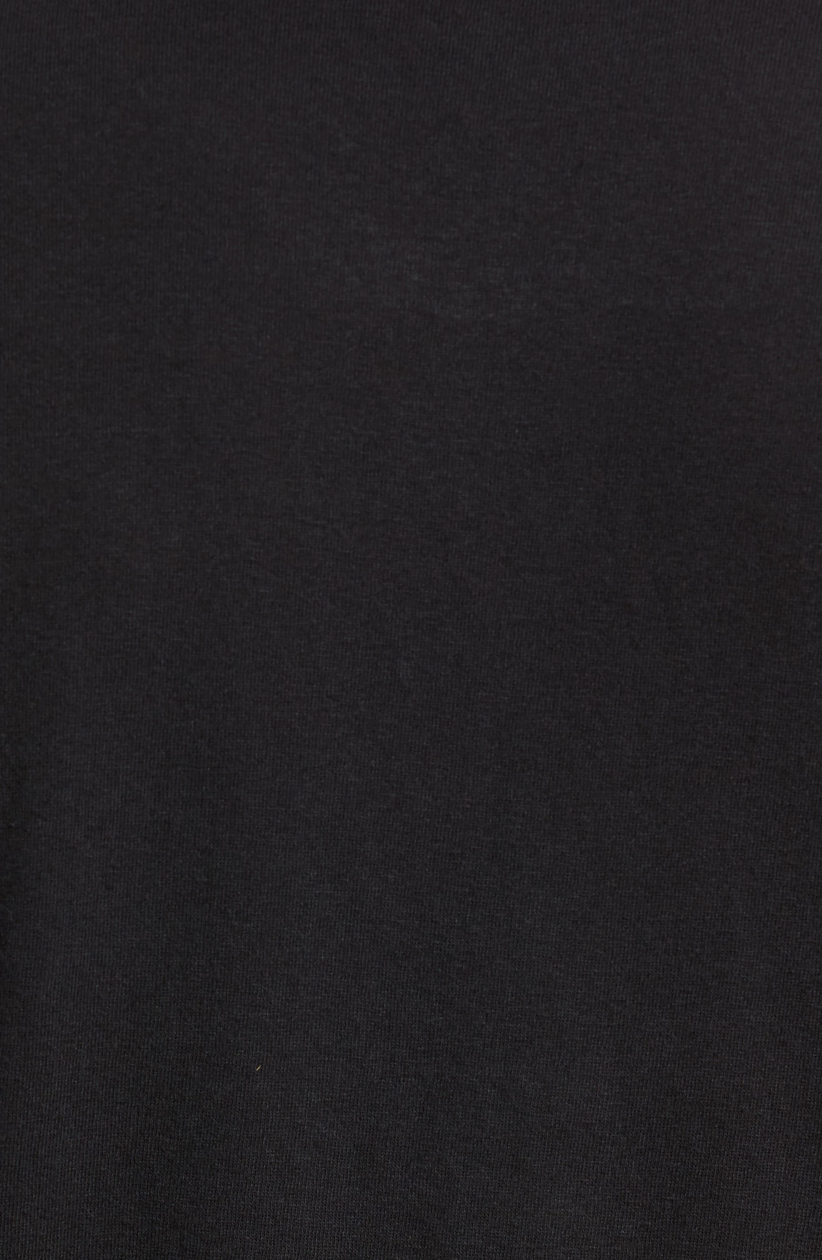 Ramsey Shredded Hem T-Shirt,                             Alternate thumbnail 5, color,                             015