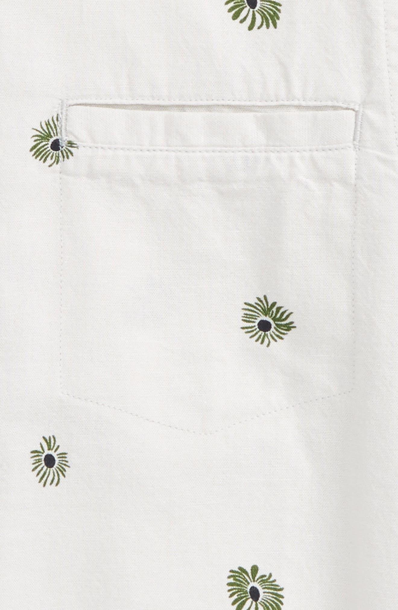 Brees Floral Print Woven Shirt,                             Alternate thumbnail 2, color,                             036