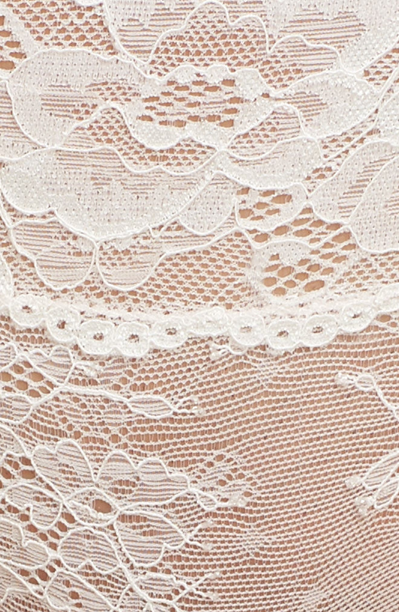 Honeydew Lace Thong,                             Alternate thumbnail 73, color,