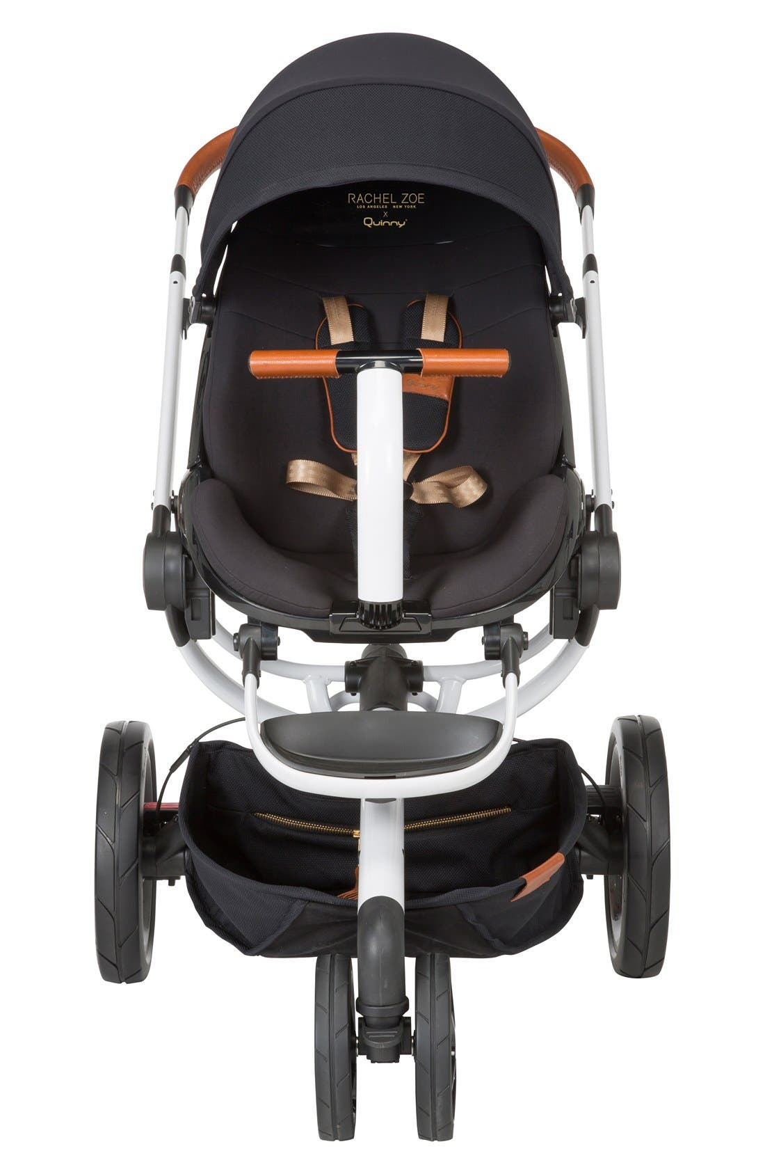 x Rachel Zoe Moodd Jet Set Special Edition Single Stroller,                             Alternate thumbnail 5, color,                             WHITE