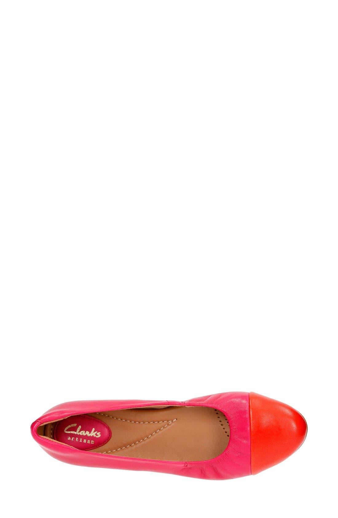 'Alitay Susan' Cap Toe Flat,                             Alternate thumbnail 17, color,