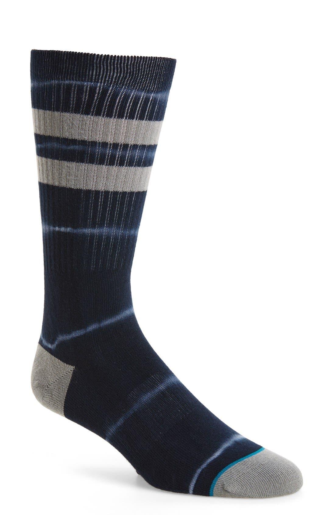 6AM Classic Crew Socks,                             Main thumbnail 1, color,                             001