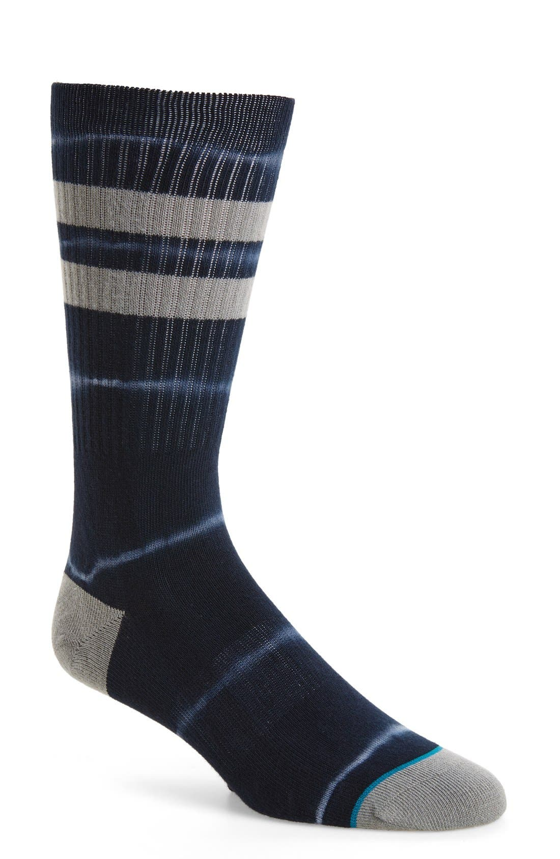 6AM Classic Crew Socks,                         Main,                         color, 001