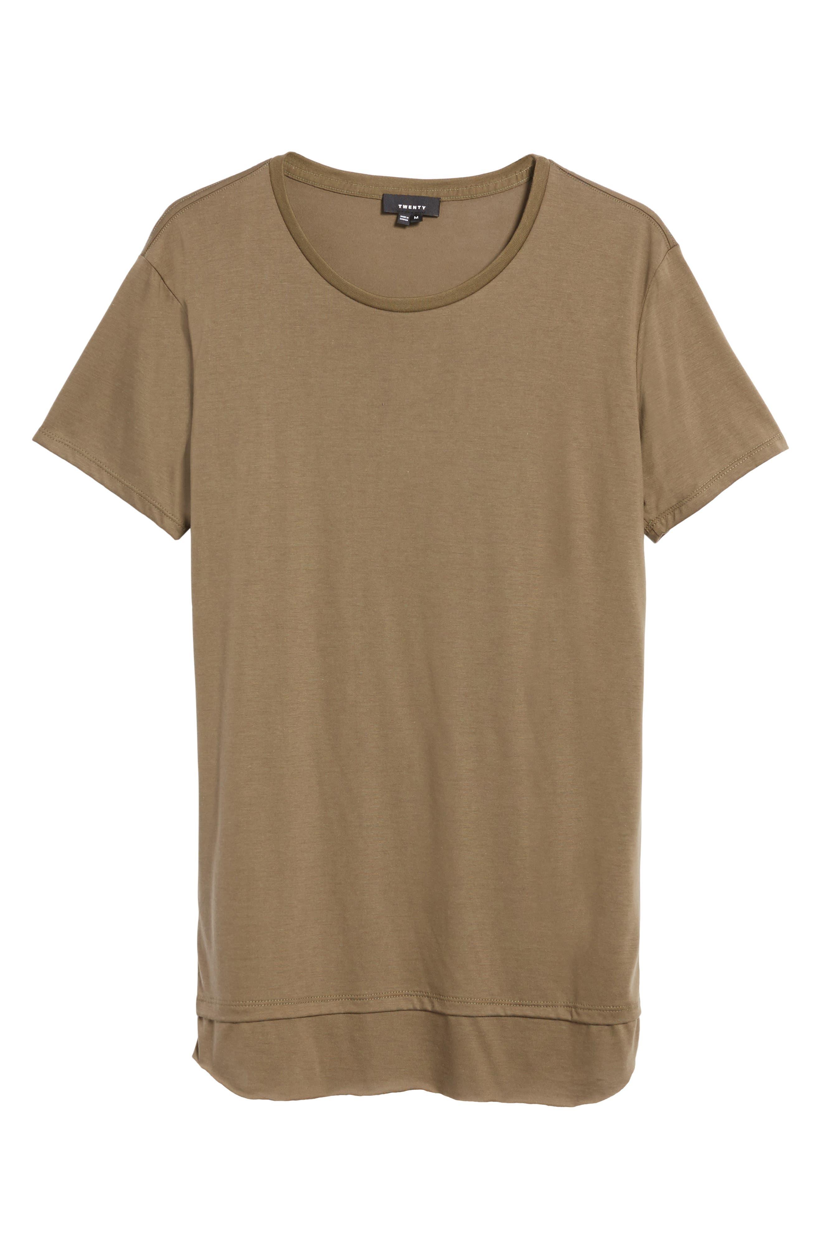 Double Layer T-Shirt,                             Alternate thumbnail 17, color,