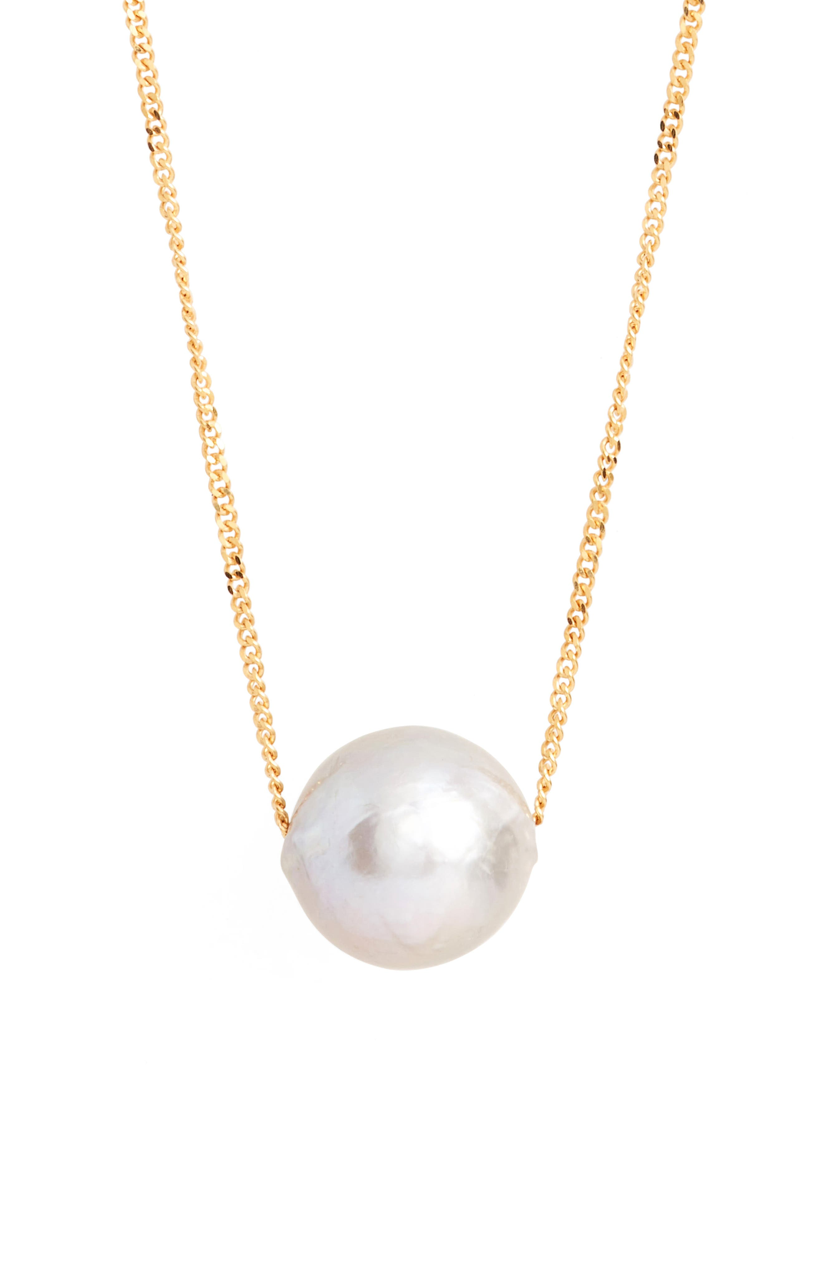Long Pearl Pendant Necklace,                             Alternate thumbnail 2, color,                             051