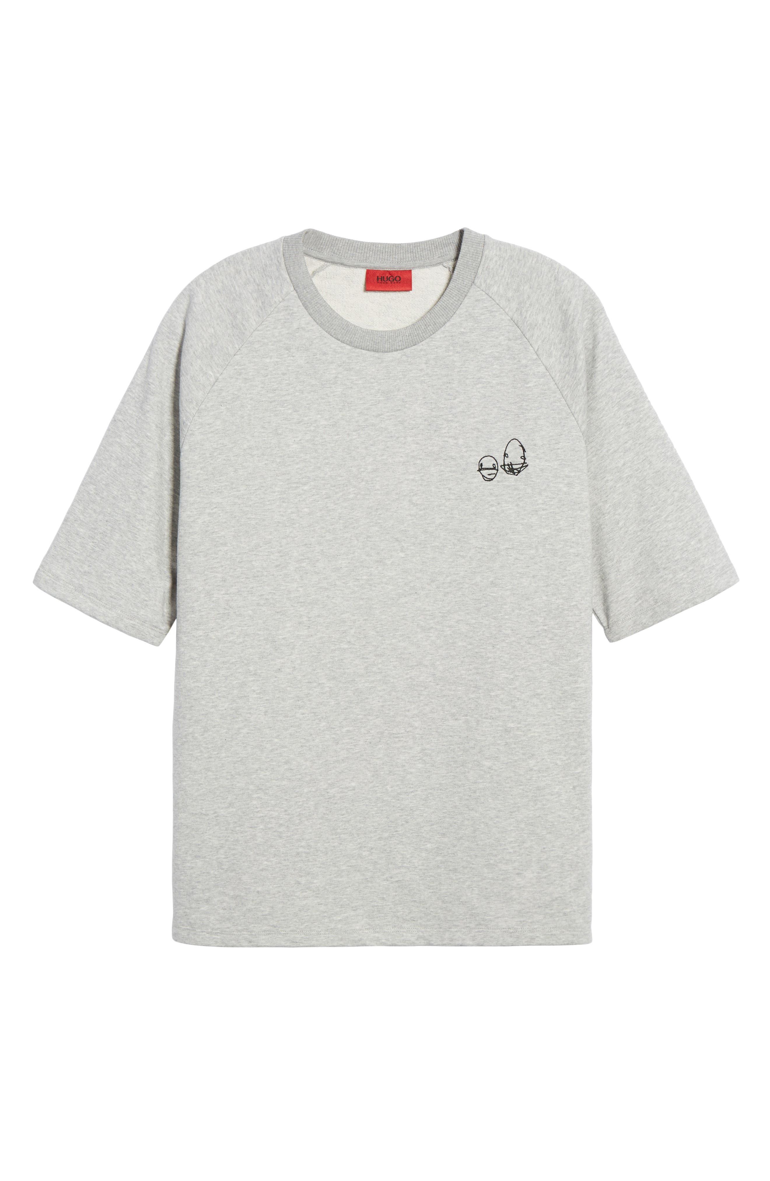 Deast Doodle Sweatshirt,                             Alternate thumbnail 6, color,